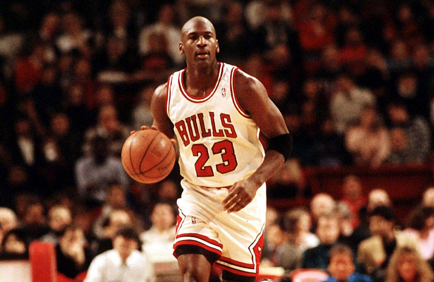 Michael Jordan danse avec les Bulls NBA Basket