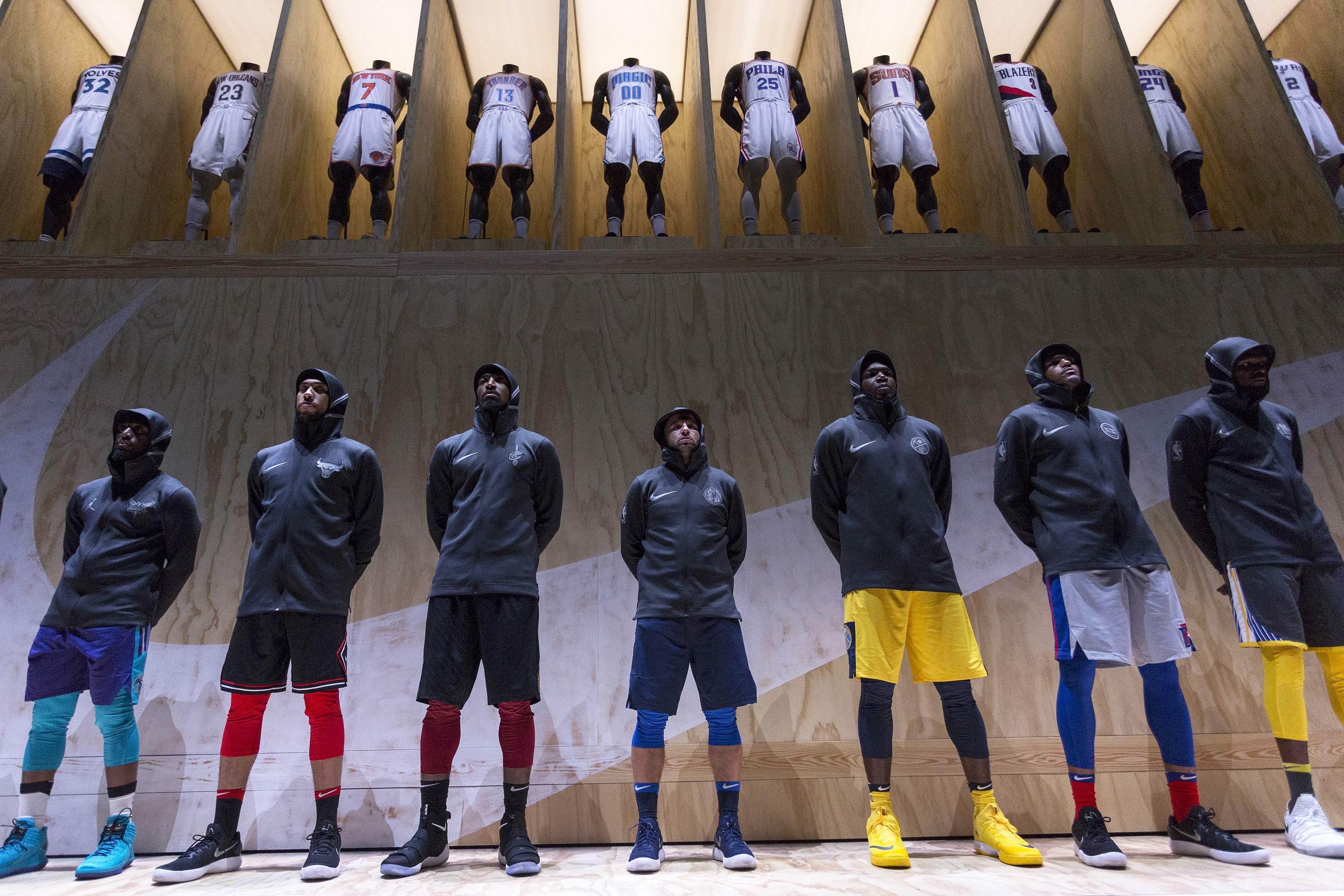 Basket - NBA - Nike lève le voile sur ses nouveaux maillots connectés