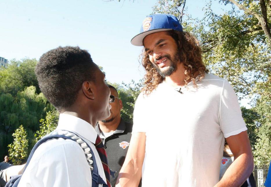Basket - NBA - Naissance de sa fille, vie à New York, débuts avec les Knicks : Noah se confie