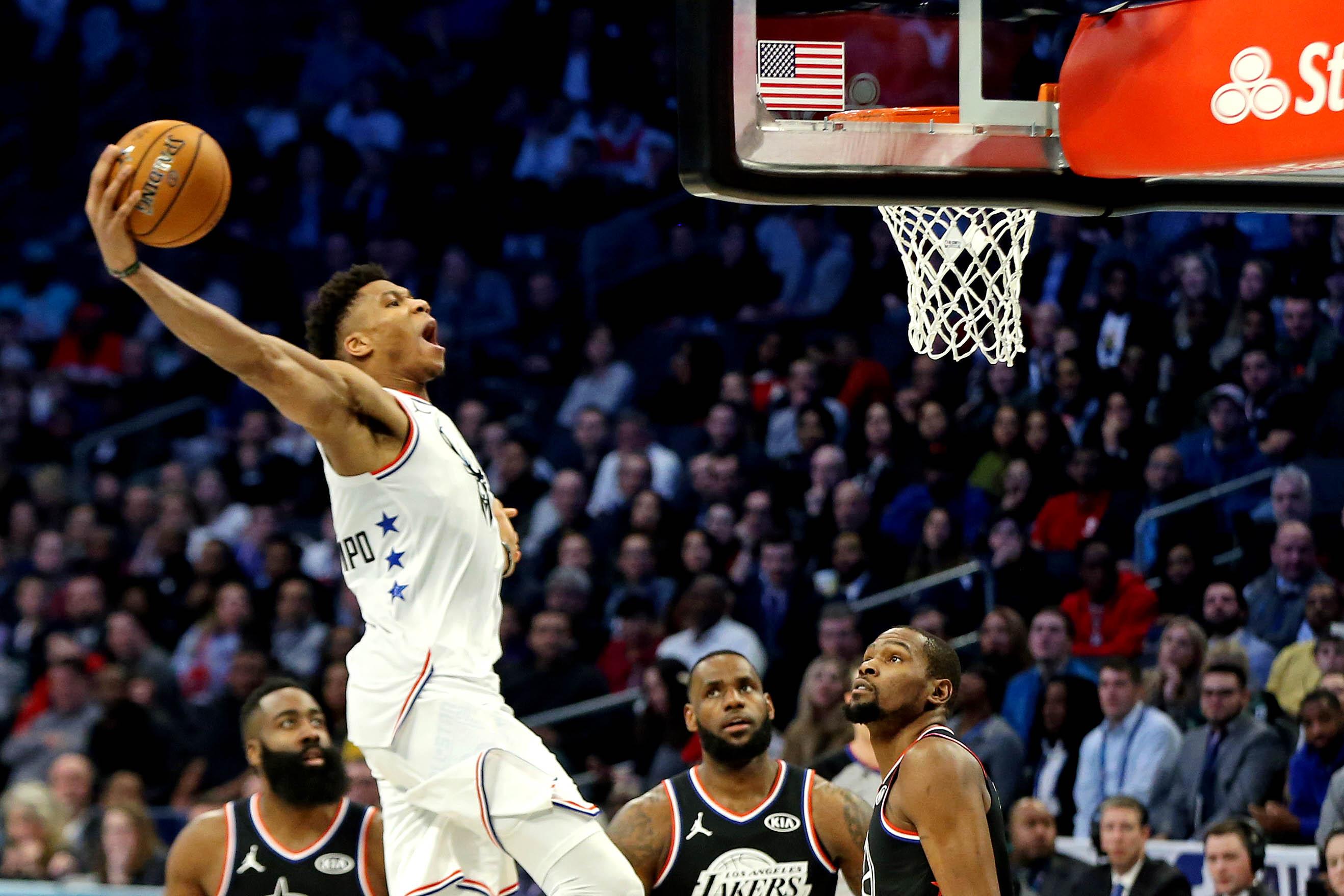 Actualite sportive : Basket - </b>NBA - Nowitzki, Antetokounmpo, James... Le Top 10 du All Star Game