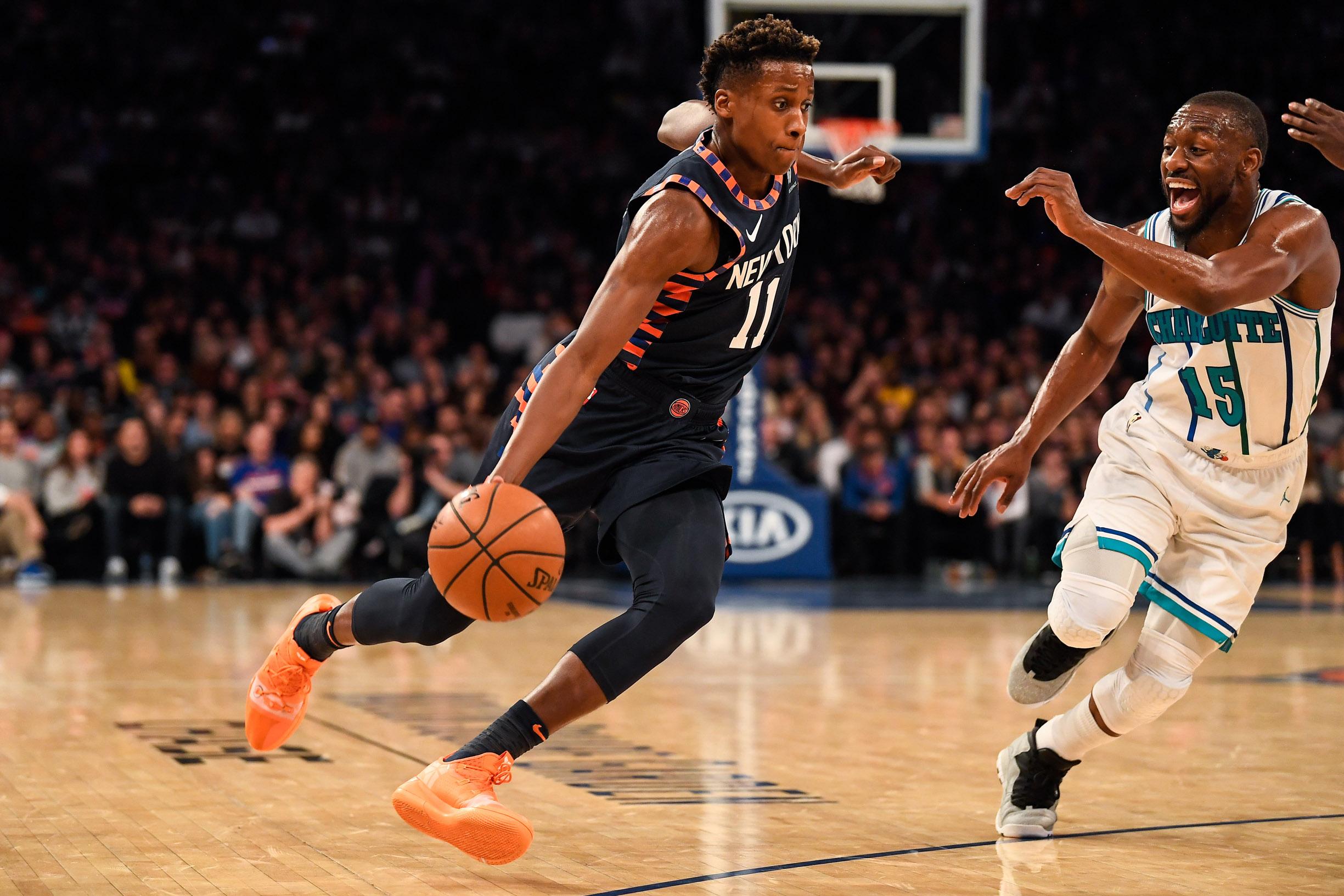 Infos sports en direct : Basket - </b>NBA - Ntilikina : </b>&#171;Le vrai Frank arrive&#187;