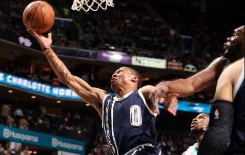 Basket - NBA - Oklahoma City s?installe dans le Top 8