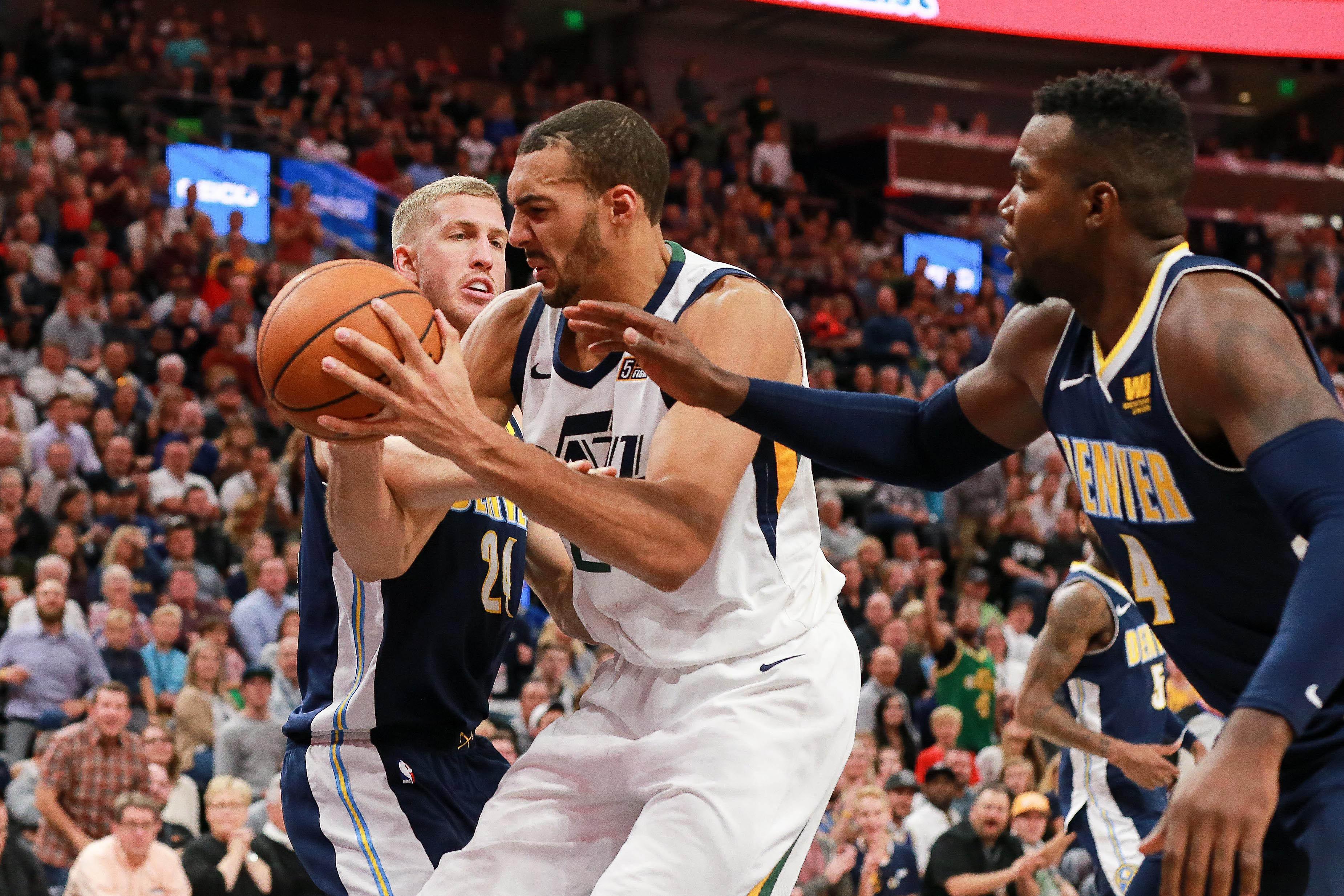 Basket - NBA - Ouverture en fanfare pour Rudy Gobert