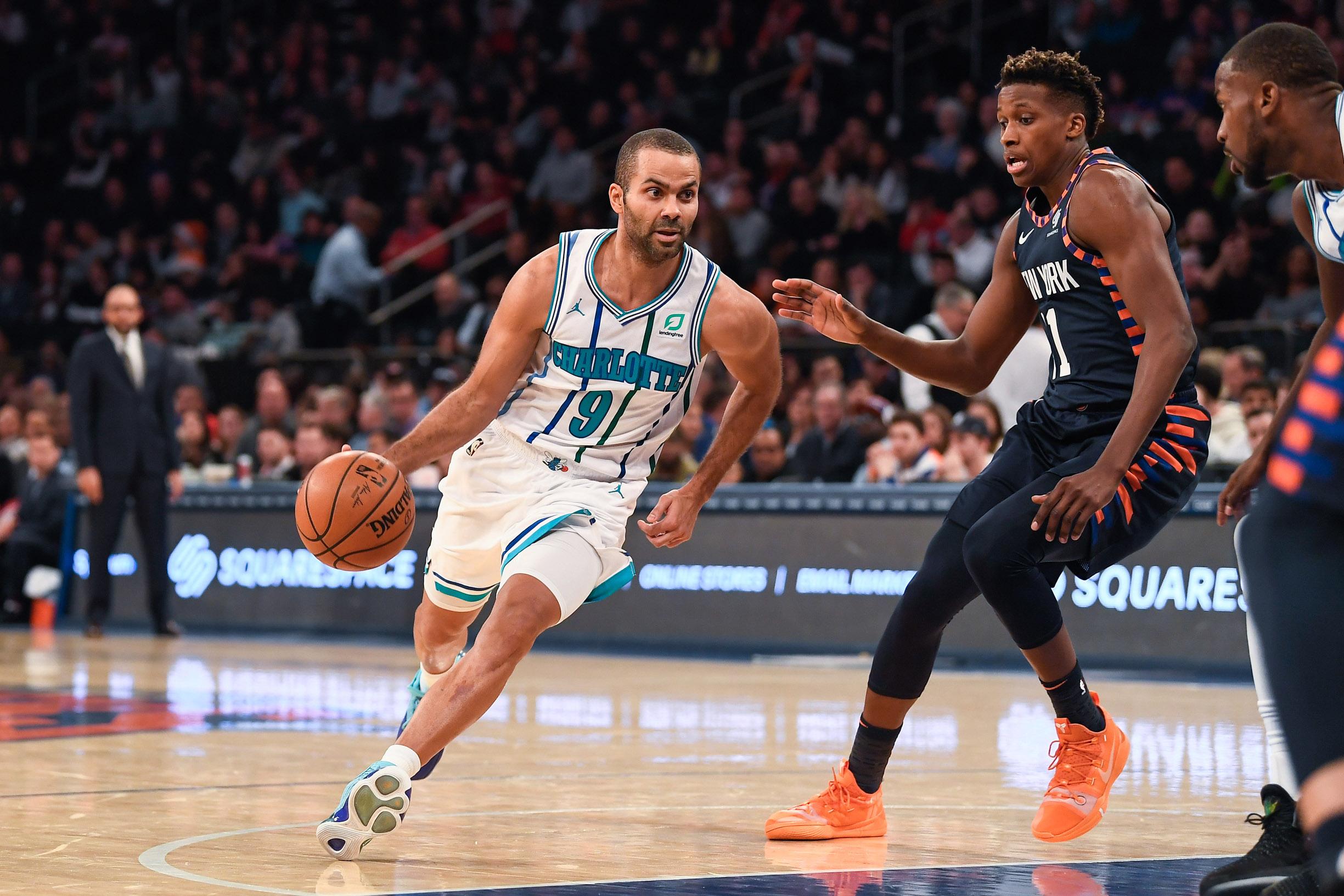 Basket - NBA - Parker et Ntilikina : l'expérience domine l'insouciance