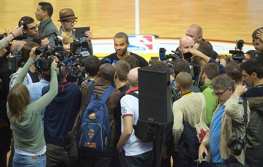 Basket - NBA - Parker : �On aime gagner, tout simplement�