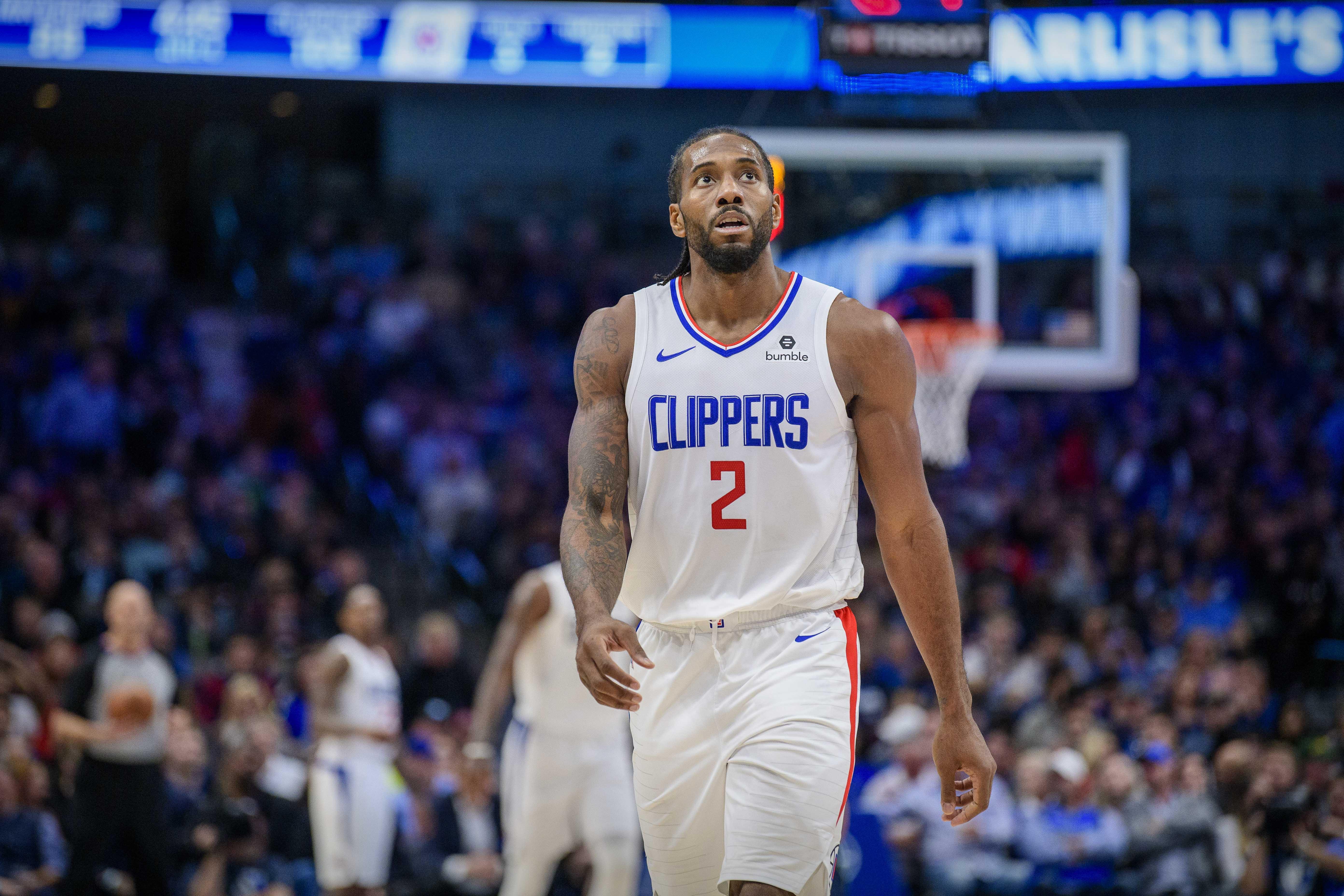 Basket - NBA - Portés par Kawhi Leonard et Paul George, les Clippers prennent le dessus sur Dallas