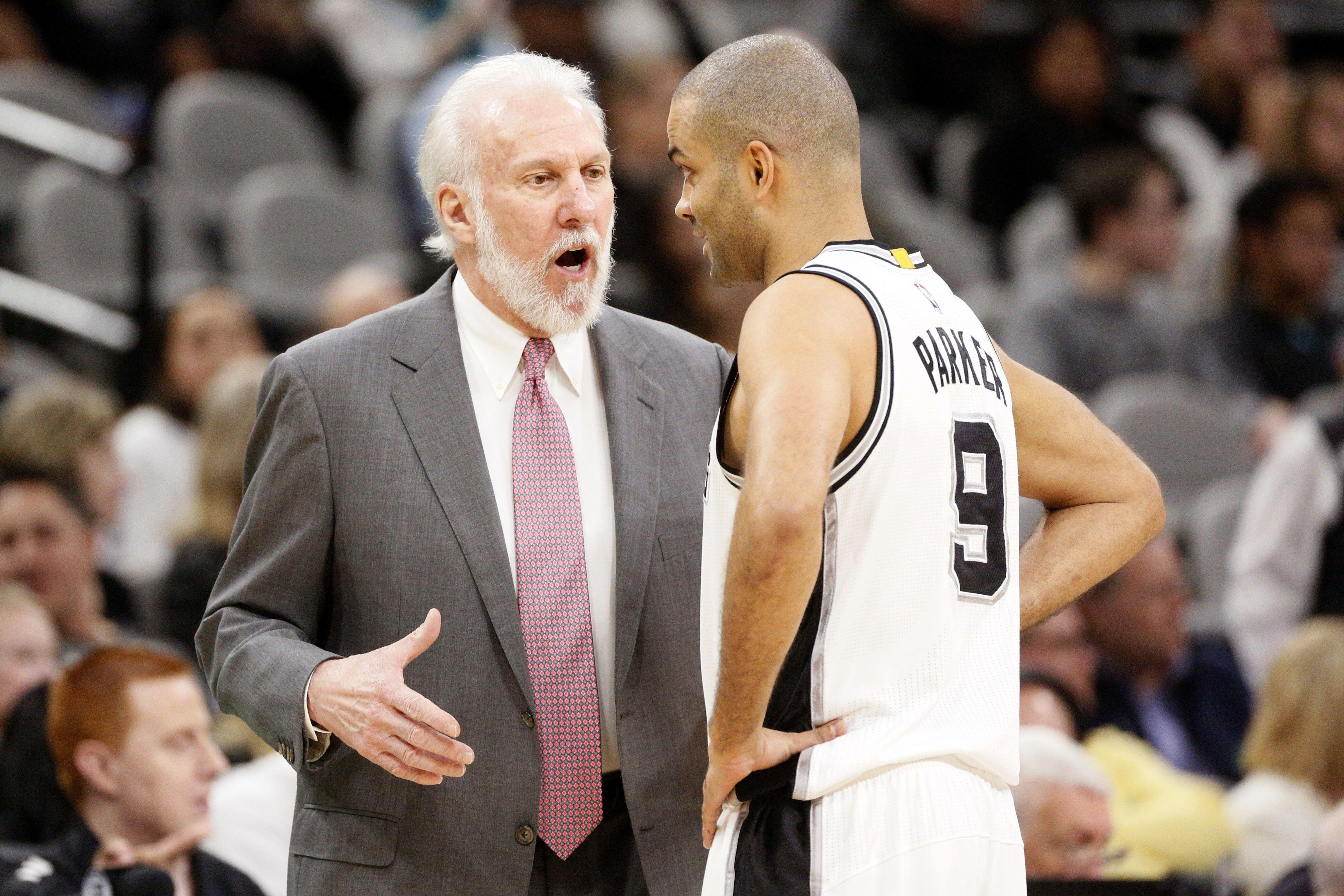 Basket - NBA - Pour Popovich, Parker sera «toujours un membre des Spurs»