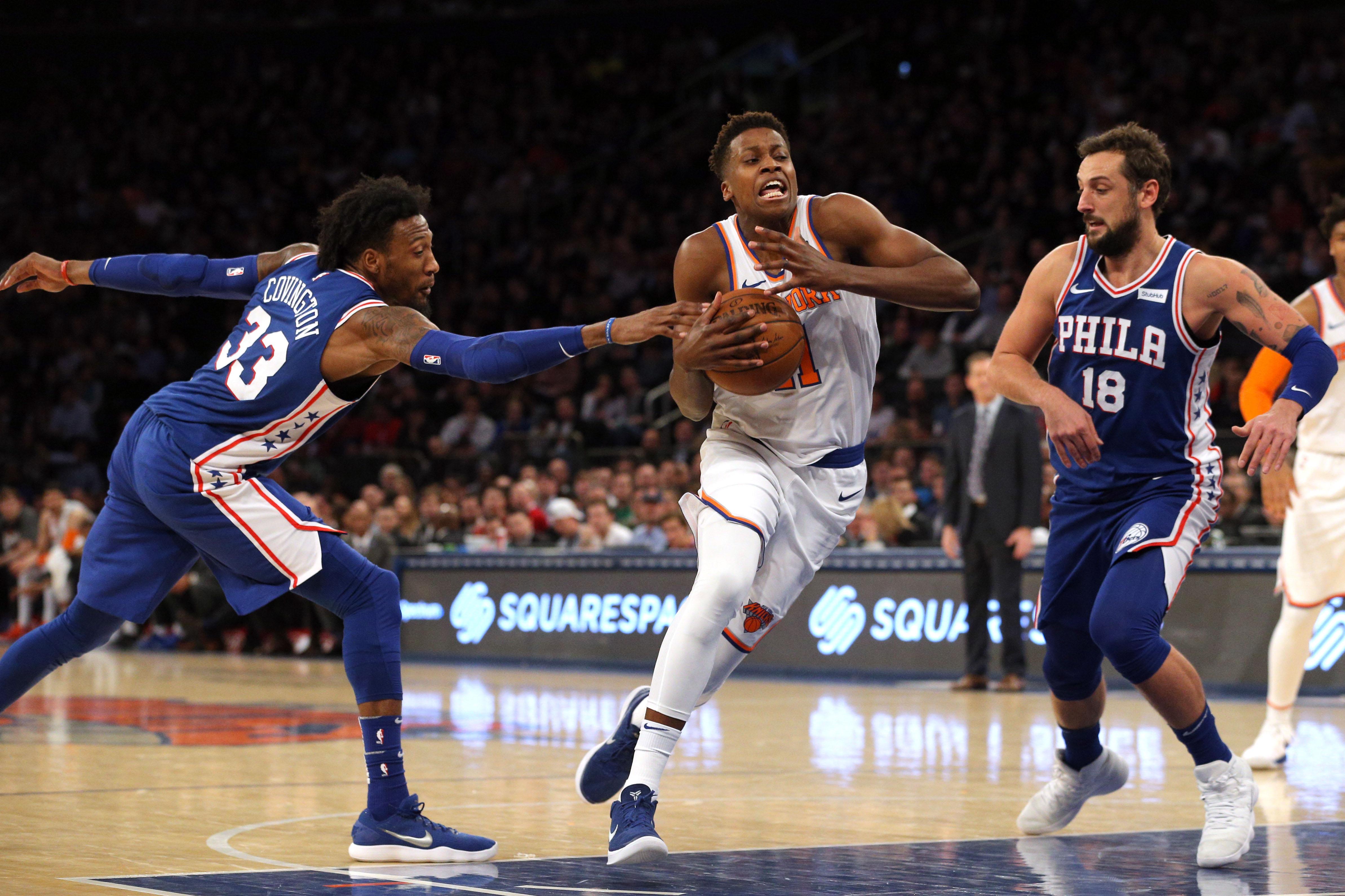 Basket - NBA - Record en carrière pour Frank Ntilikina