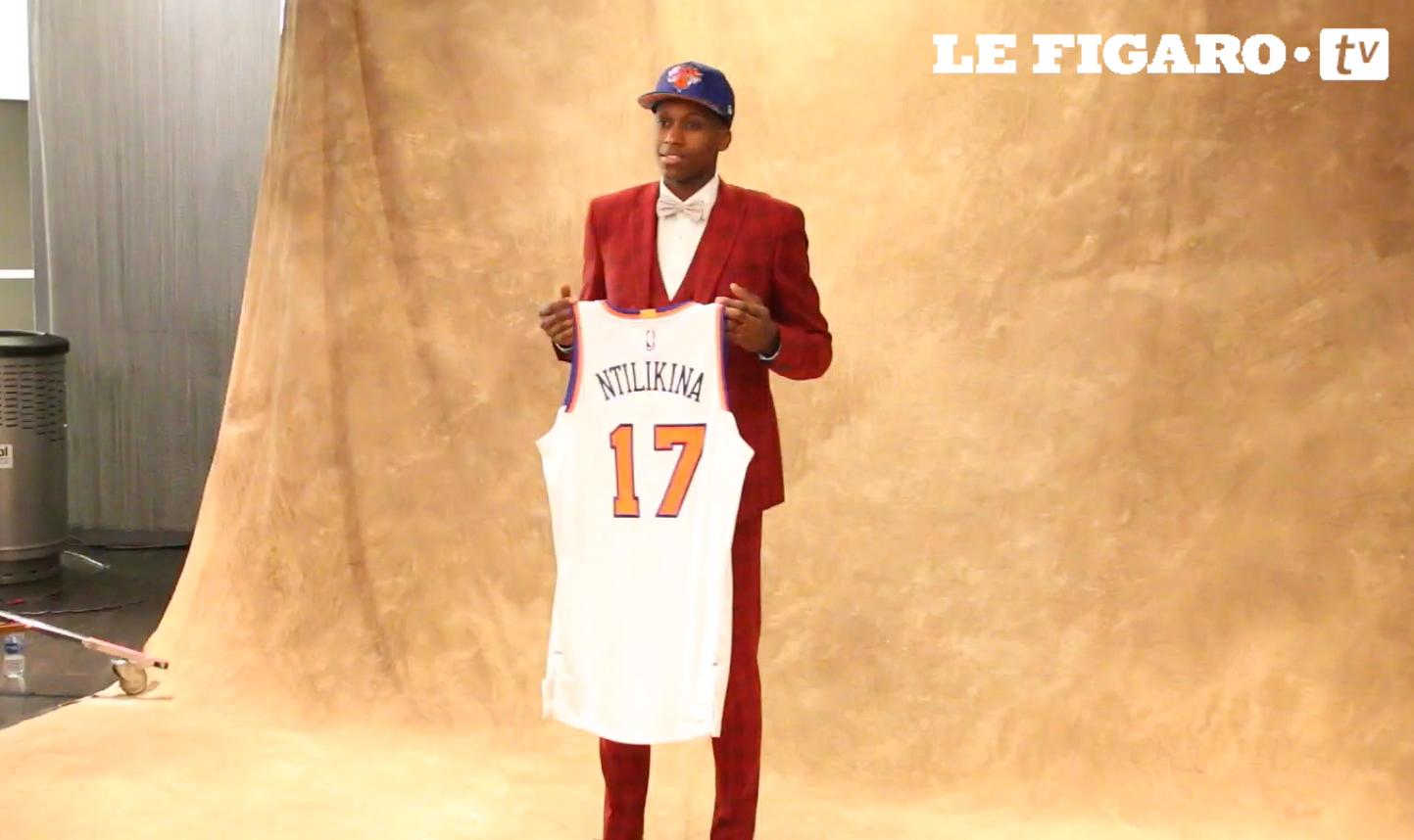 Basket - NBA - Reportage : De Strasbourg à New York, le conte de fée de Frank Ntilikina