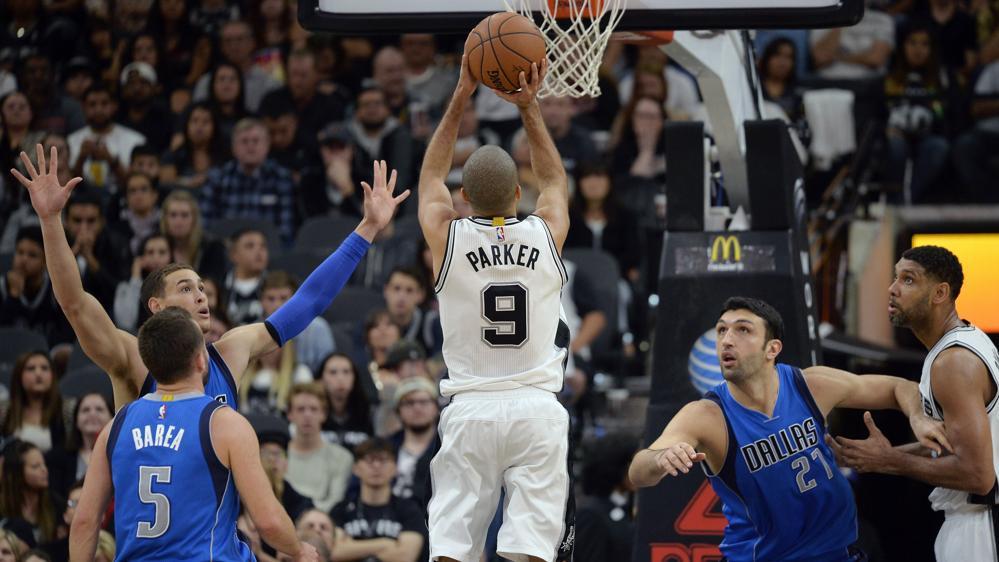 Basket - NBA - San Antonio et Parker s?accrochent dans le sillage de Golden State