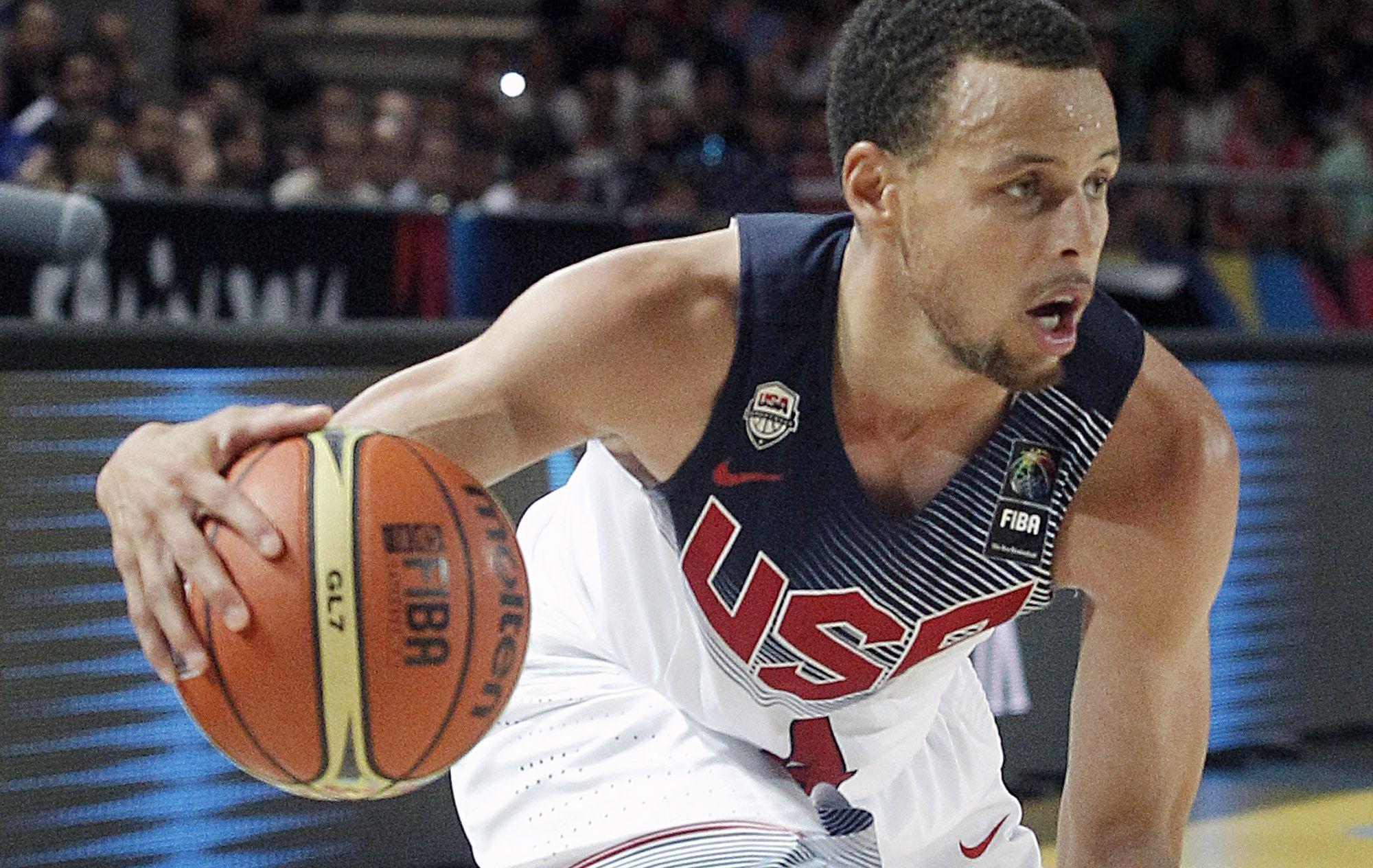 Basket - NBA - Team USA se balade contre le Mexique