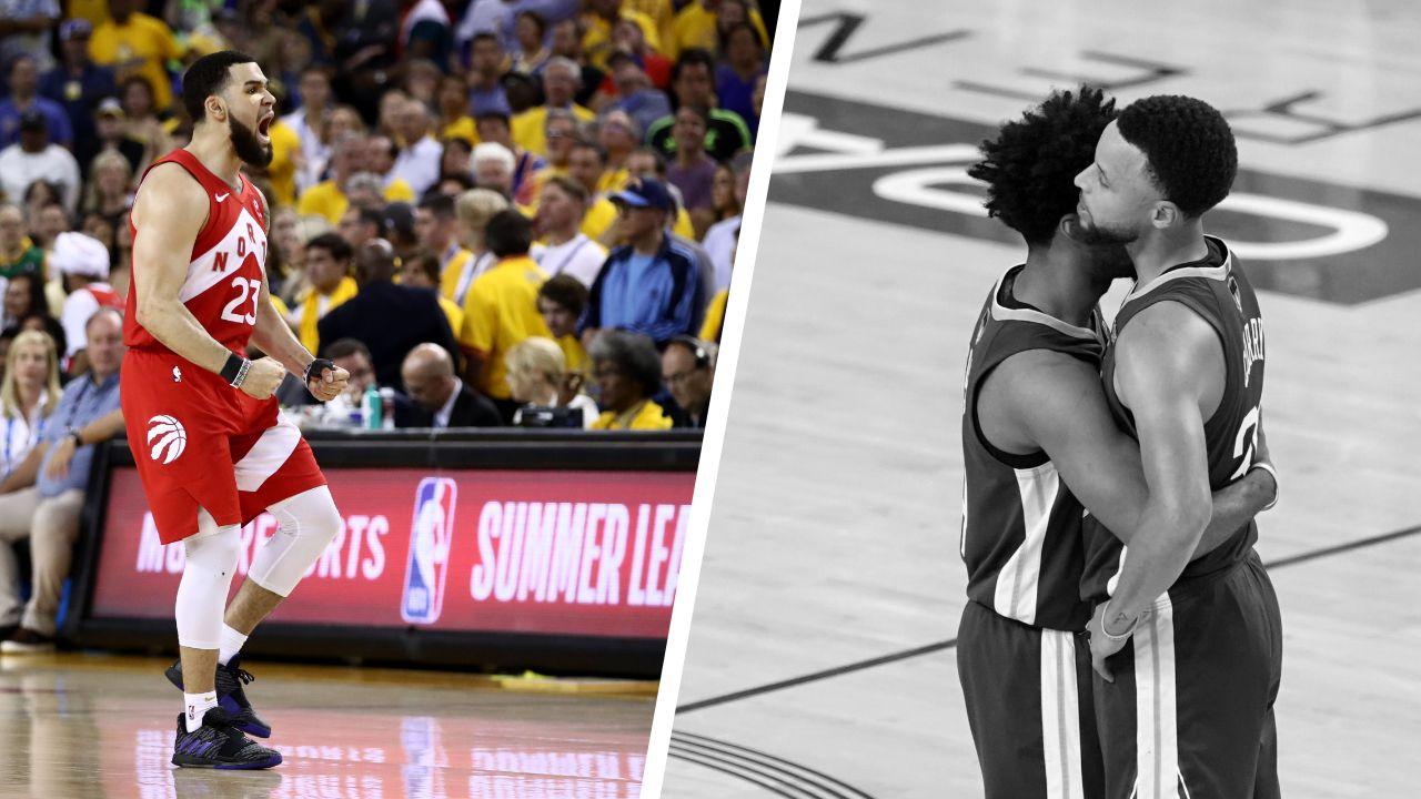 Basket - NBA - Tops/Flops Golden State-Toronto : VanVleet tutoies les étoiles, Curry trop court