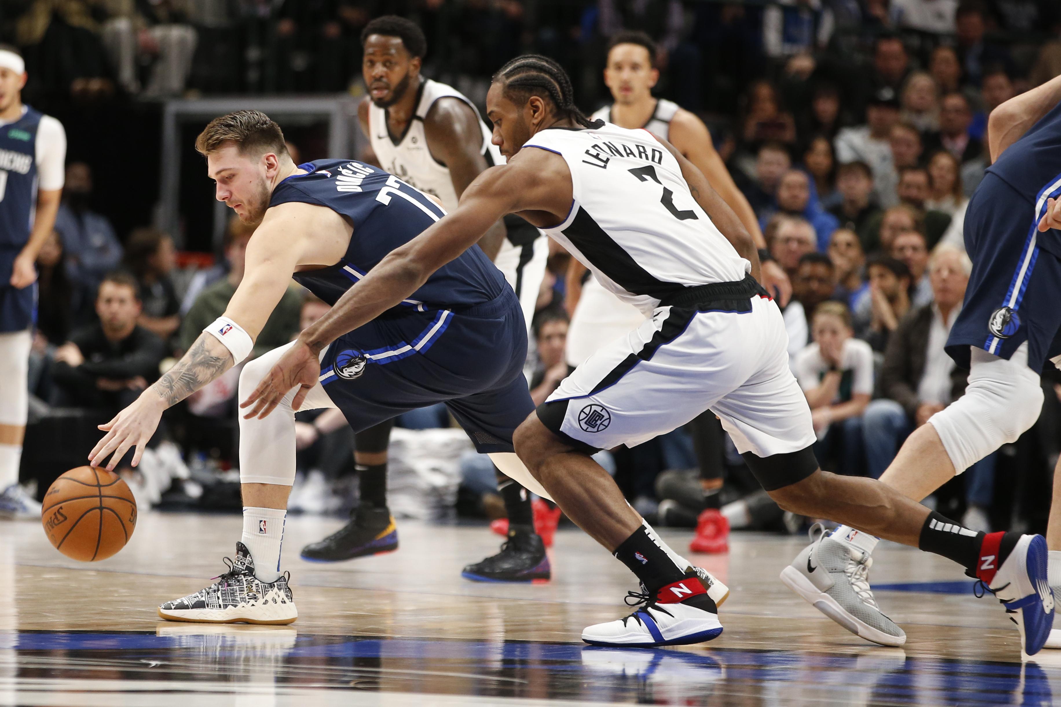 Basket - NBA - Duel de costauds entre Doncic et Leonard, les Clippers s'imposent sur le fil