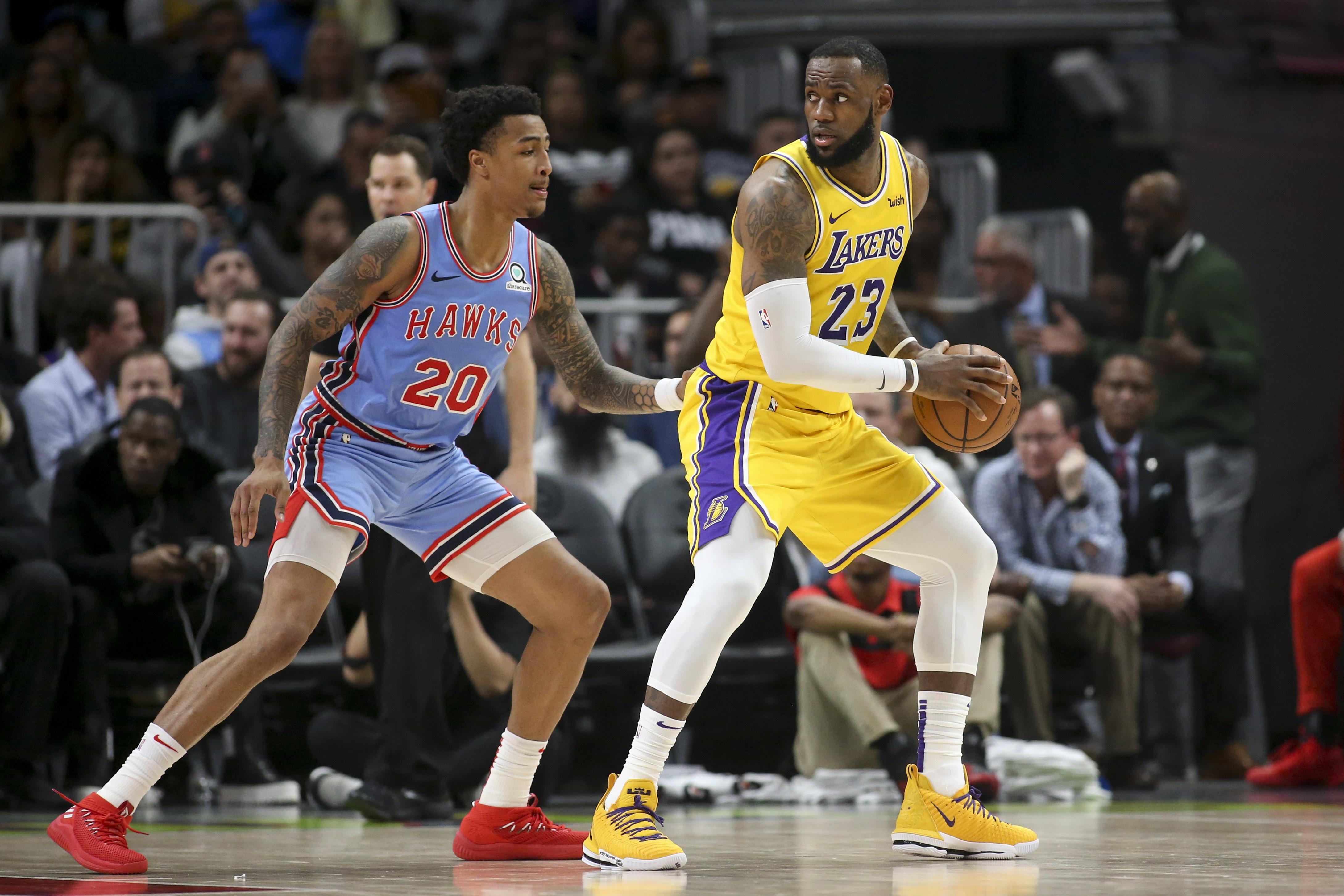 Basket - NBA - Un James en triple double ne suffit pas pour les Lakers