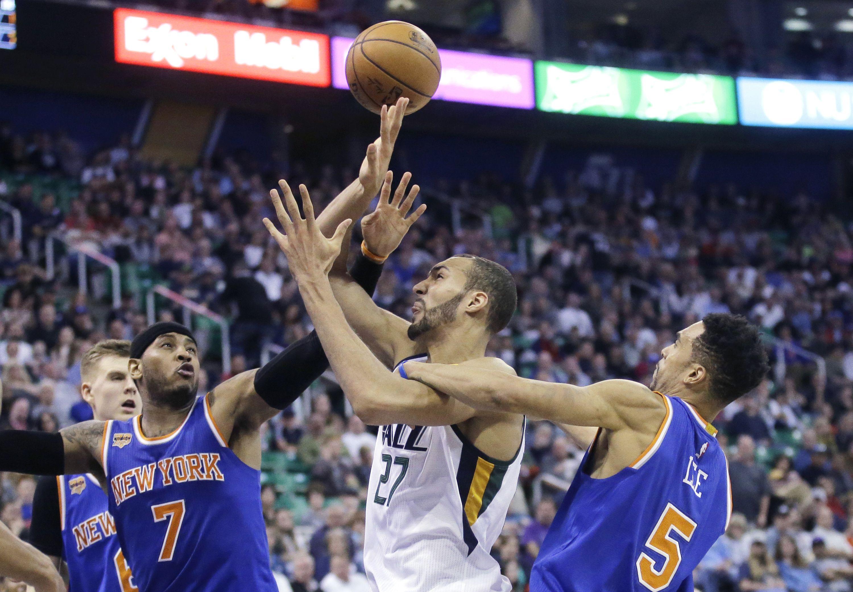 Basket - NBA - Une soirée record pour Rudy Gobert