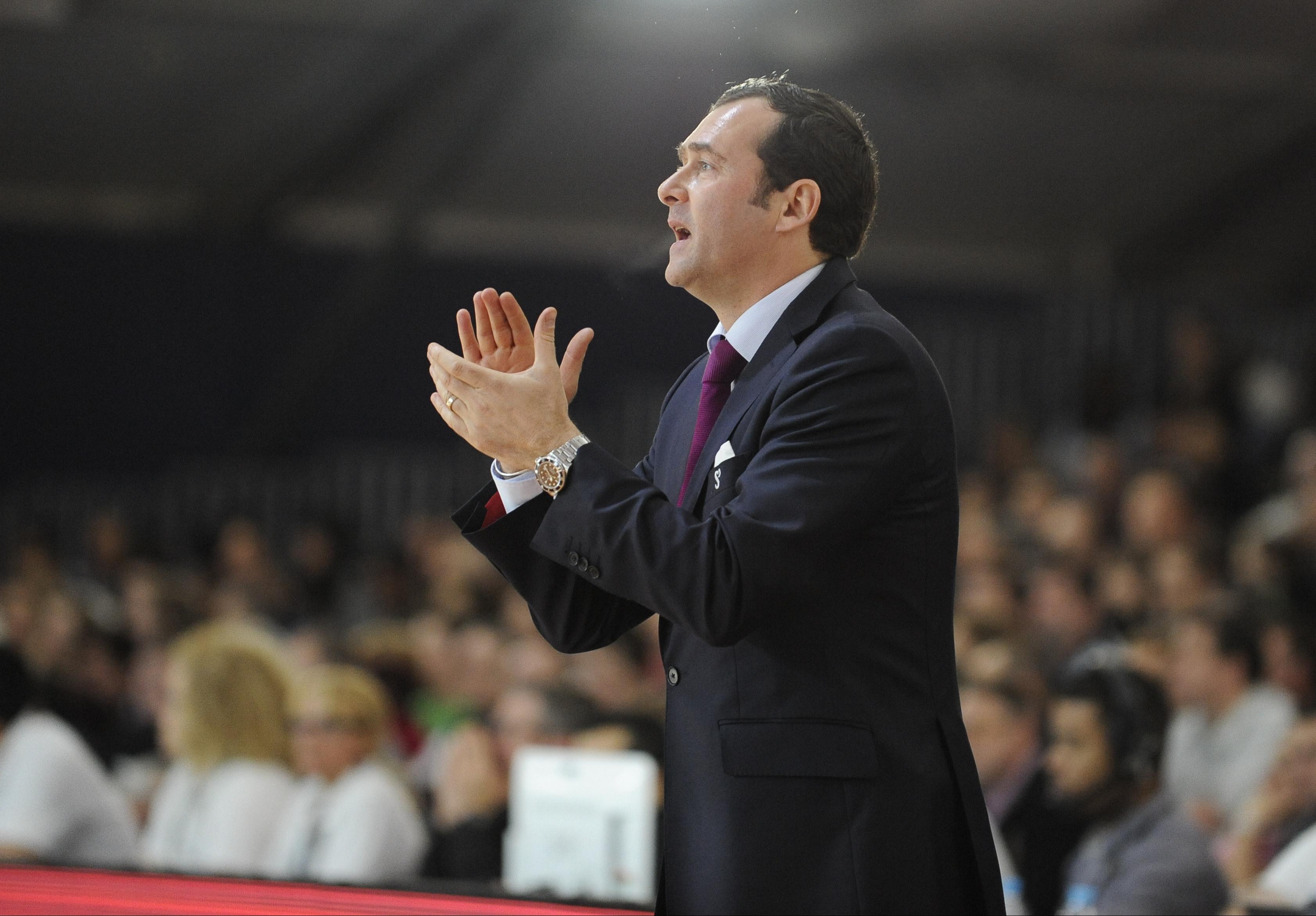 Basket - Pro A - D�monstration de Rouen contre Pau