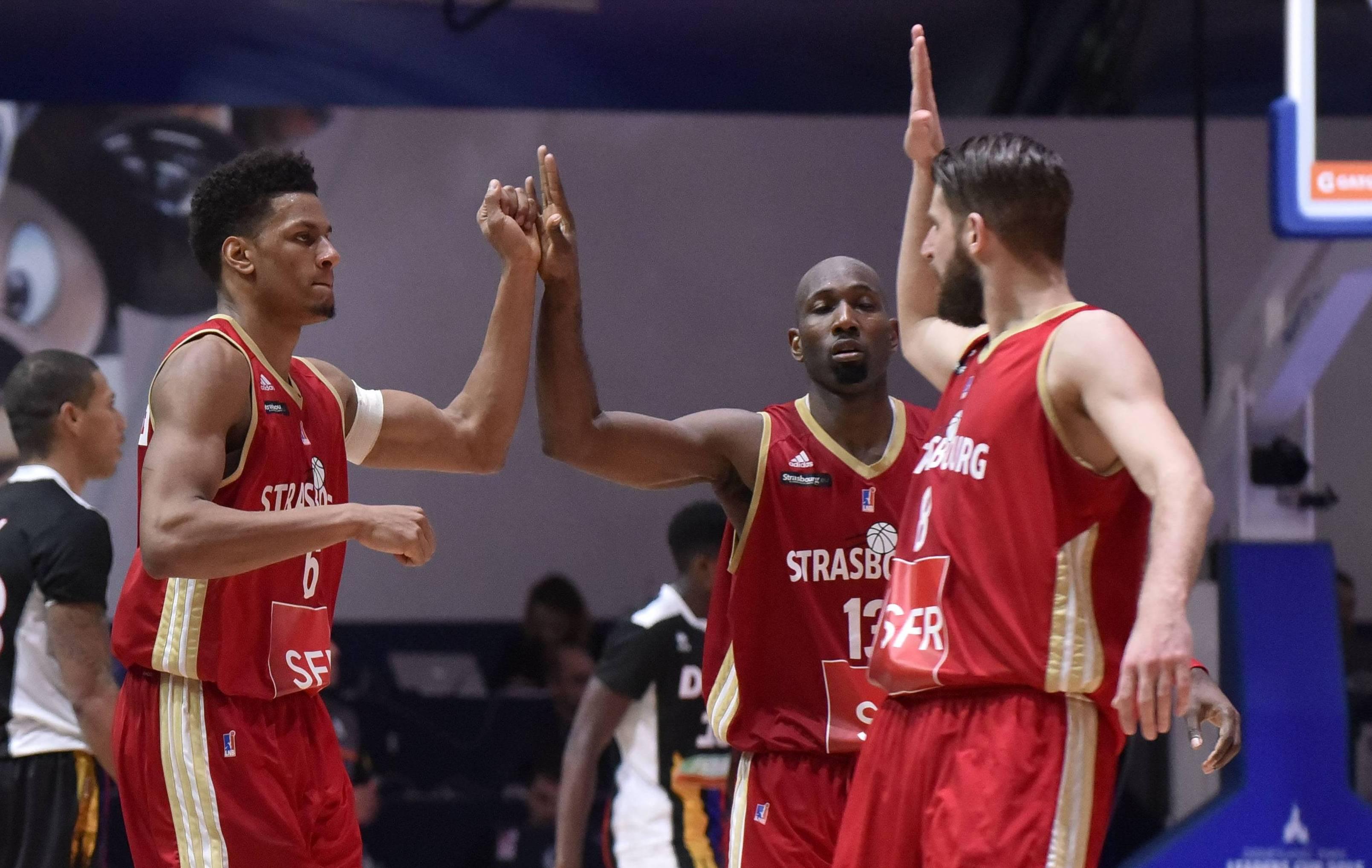 Basket - Pro A - Strasbourg r�siste au retour du Mans pour le titre