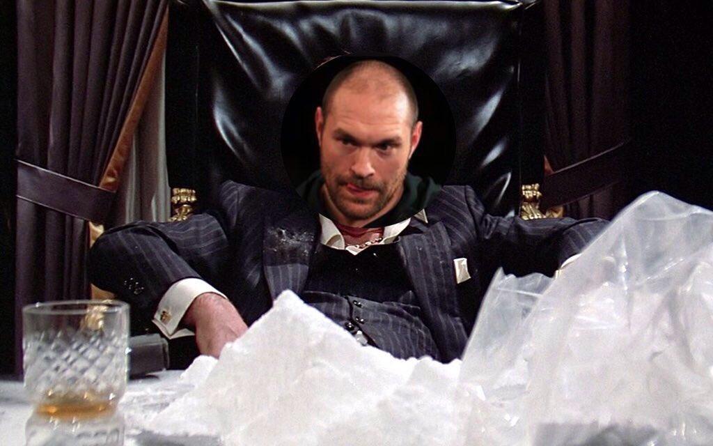 Boxe - Contrôlé positif à la cocaïne,Tyson Fury provoque en copiant Scarface