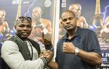 Carlos Takam et Tony Thompson