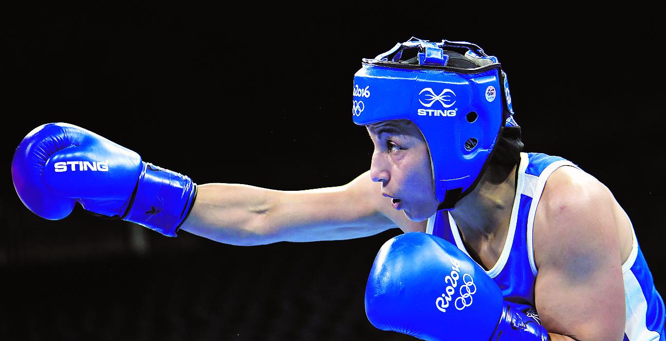 Boxe - Sarah Ourahmoune: «les mères ont moins peur de la boxe»