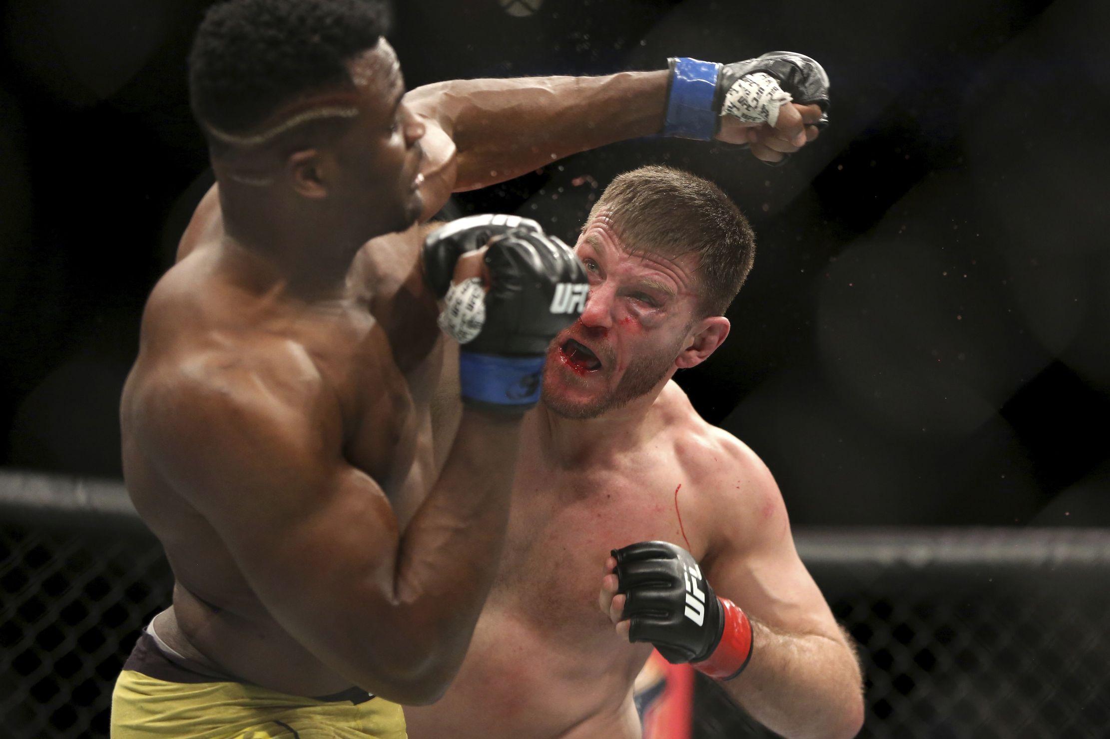 Boxe - UFC : Miocic trop fort pour Ngannou