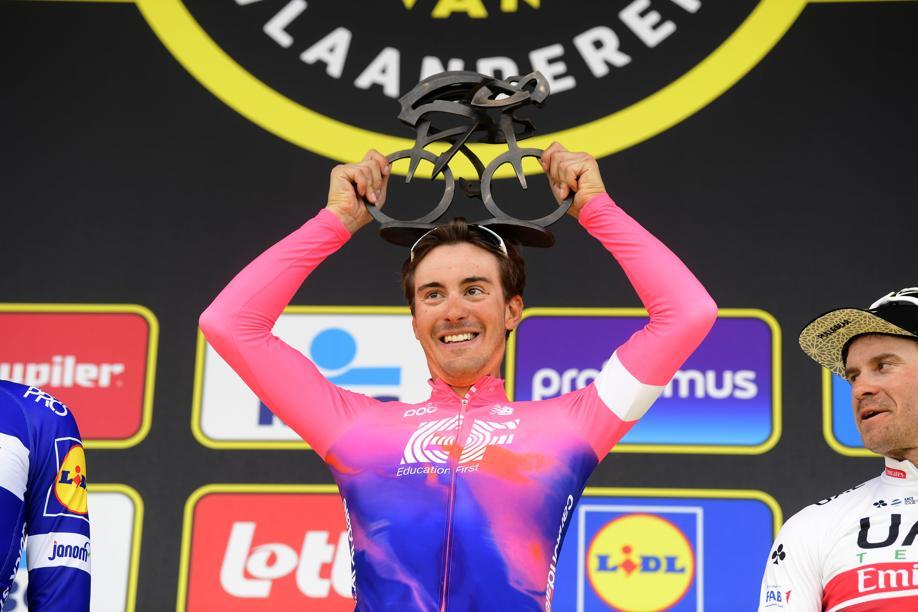 Cyclisme - Alberto Bettiol s'offre le Tour des Flandres pour ouvrir son palmarès