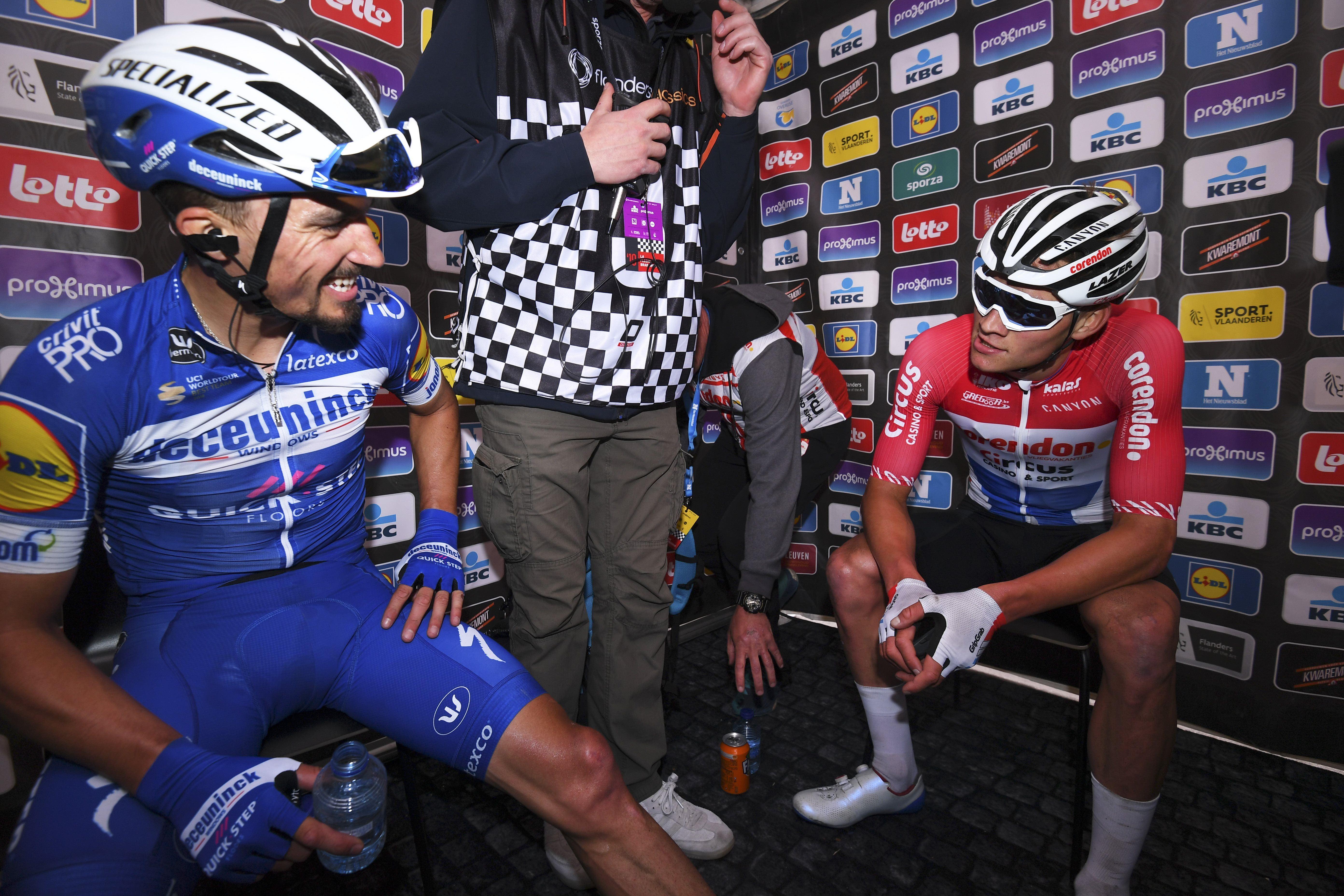 Cyclisme - Amstel Gold Race : Qui pour contrer Alaphilippe et van der Poel ?