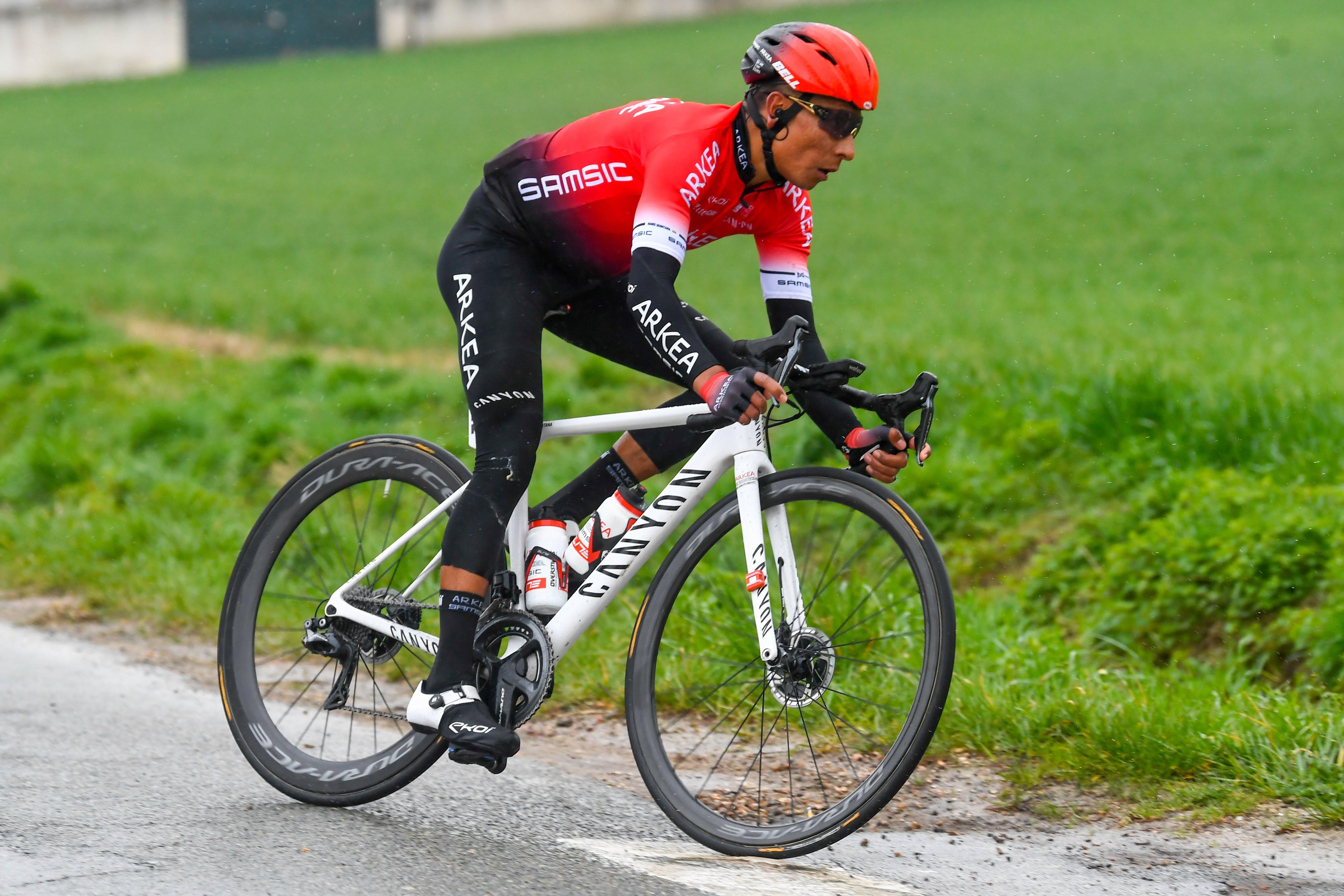 Cyclisme - Arrêté quinze jours, Quintana n'est pas inquiet pour le Tour de France