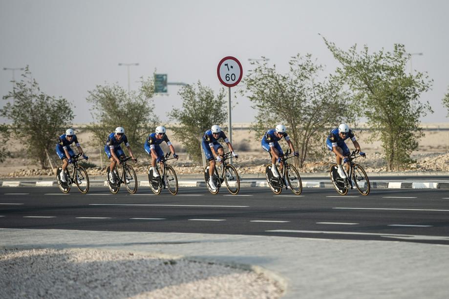 Cyclisme - Etixx-Quick Step championne du monde de contre-le-montre par équipes