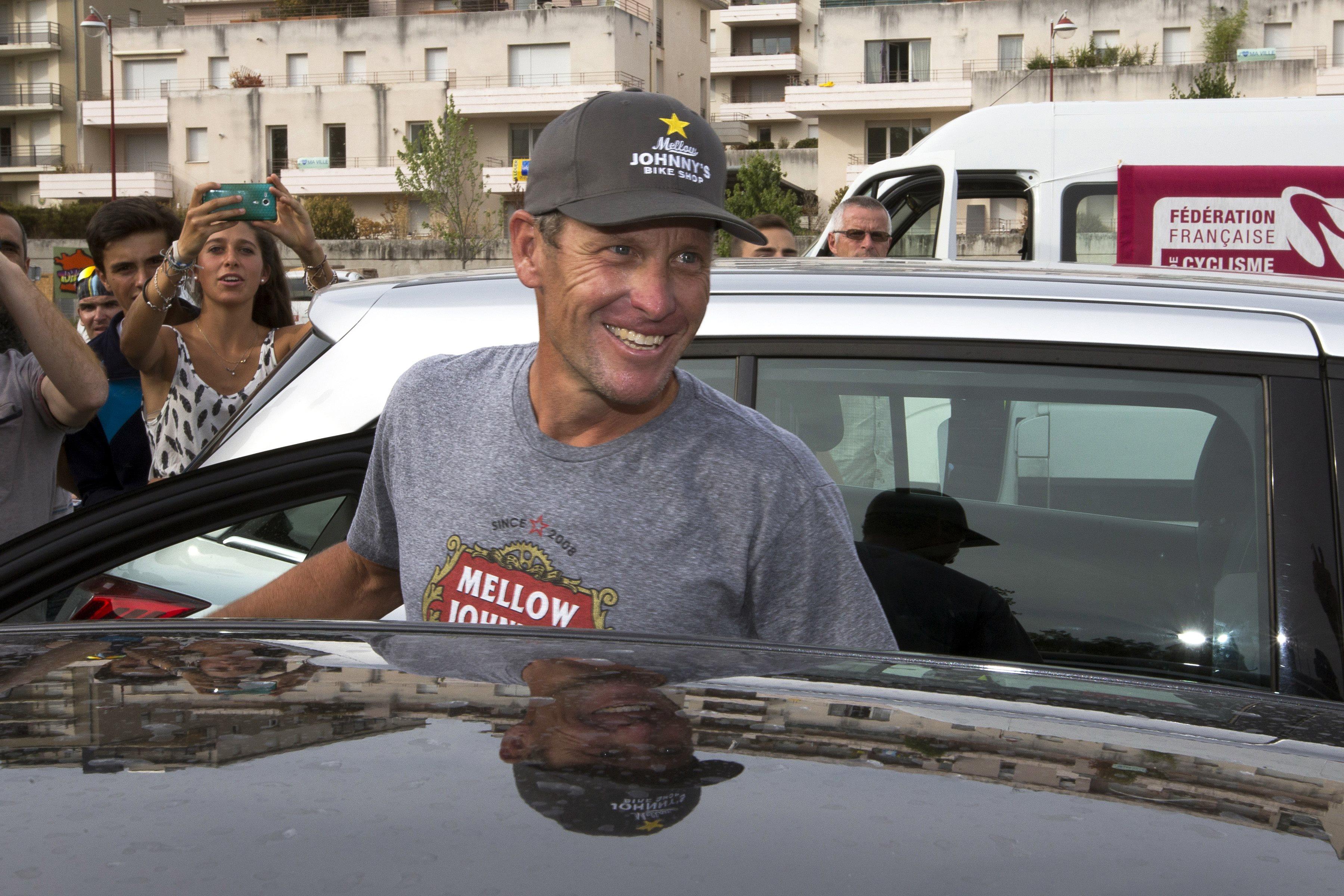 Cyclisme - Lance Armstrong en Israël pour commenter le Tour d'Italie