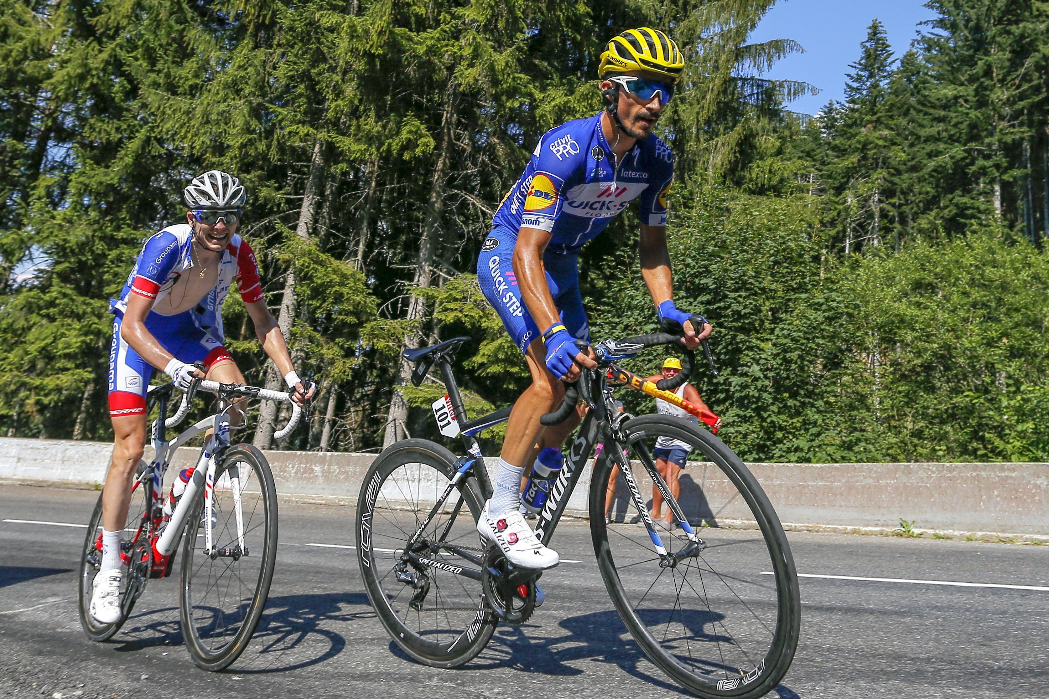 Cyclisme - Mondiaux 2018 : Alaphilippe et les Bleus jouent des coudes dans le groupe des favoris