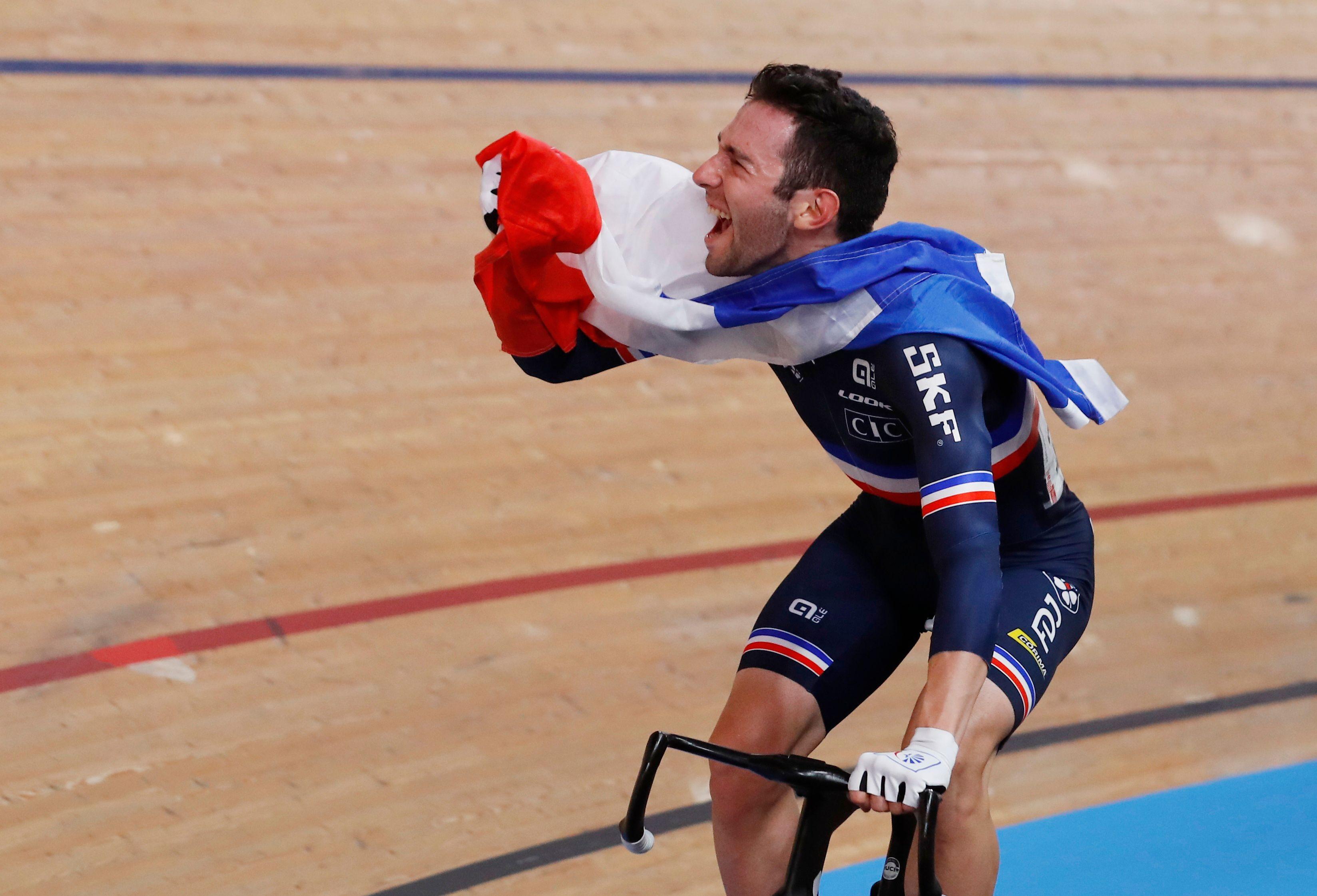 Cyclisme - Mondiaux sur piste : cinq médailles mais une déception en sprint pour la France