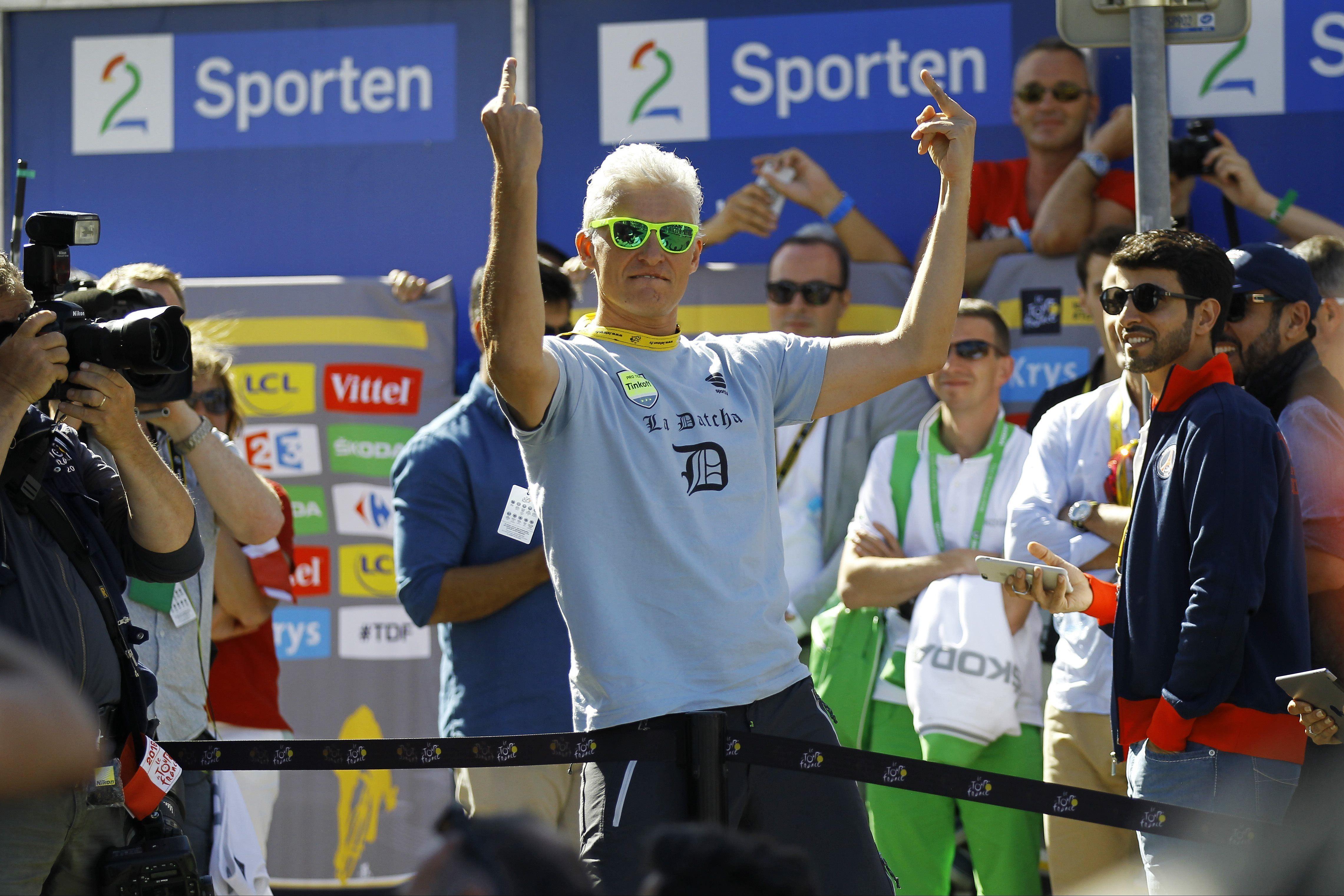 Cyclisme - Oleg Tinkov : «Je n'aime pas Contador»