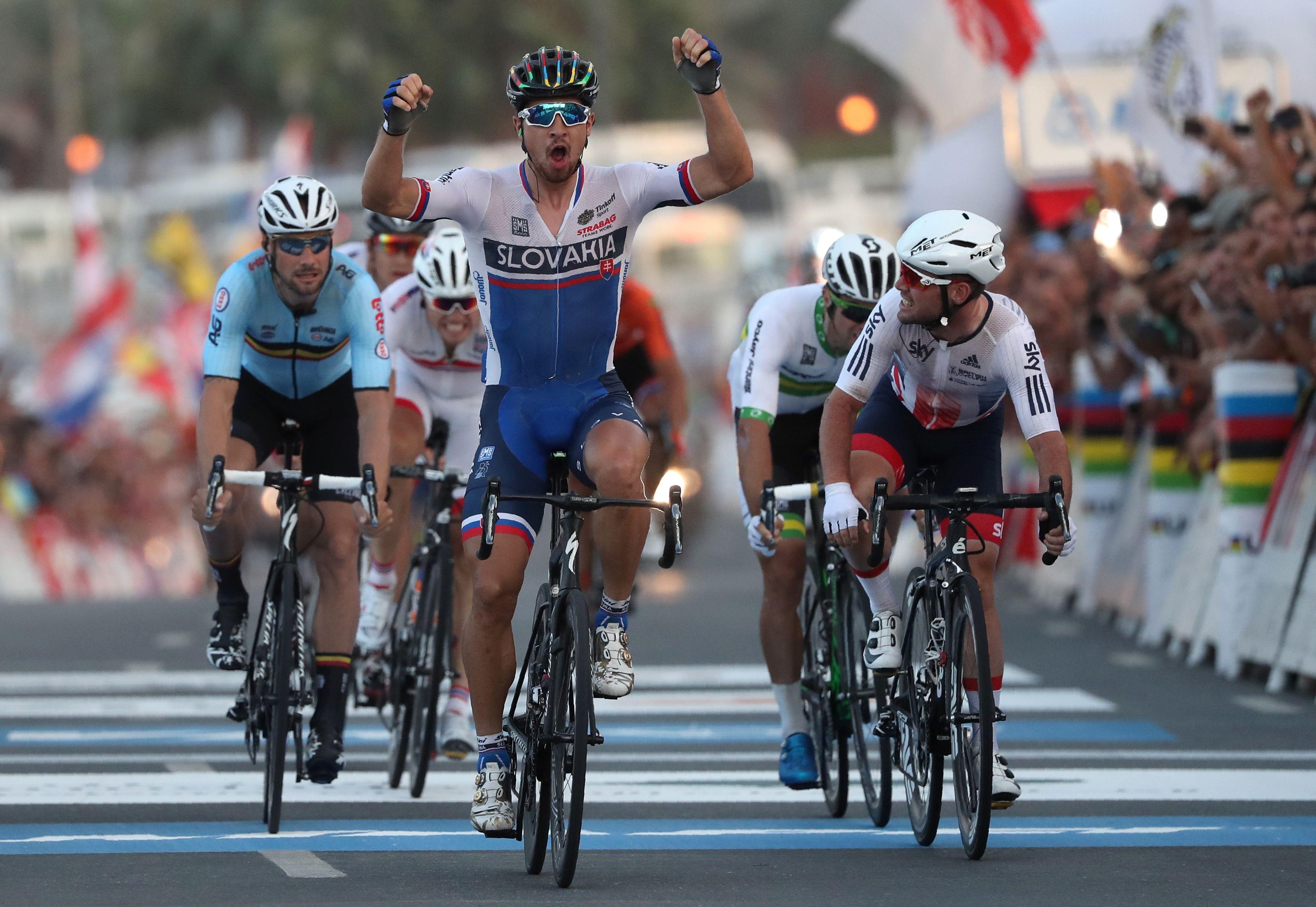 Cyclisme - Peter Sagan garde sa couronne dans le désert qatari