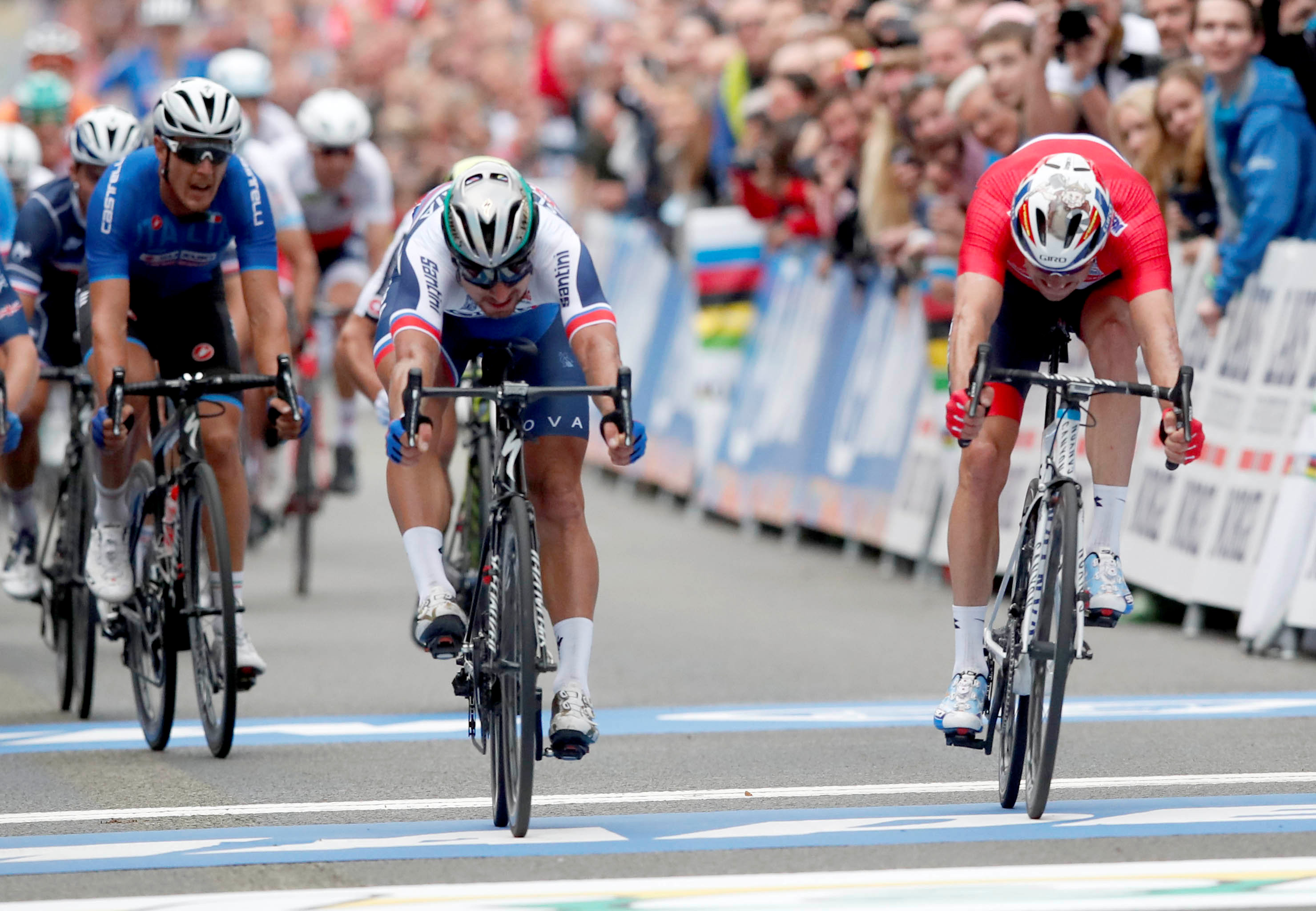 Cyclisme - Sagan, Sagan, Sagan: l'arc-en-ciel a un nom