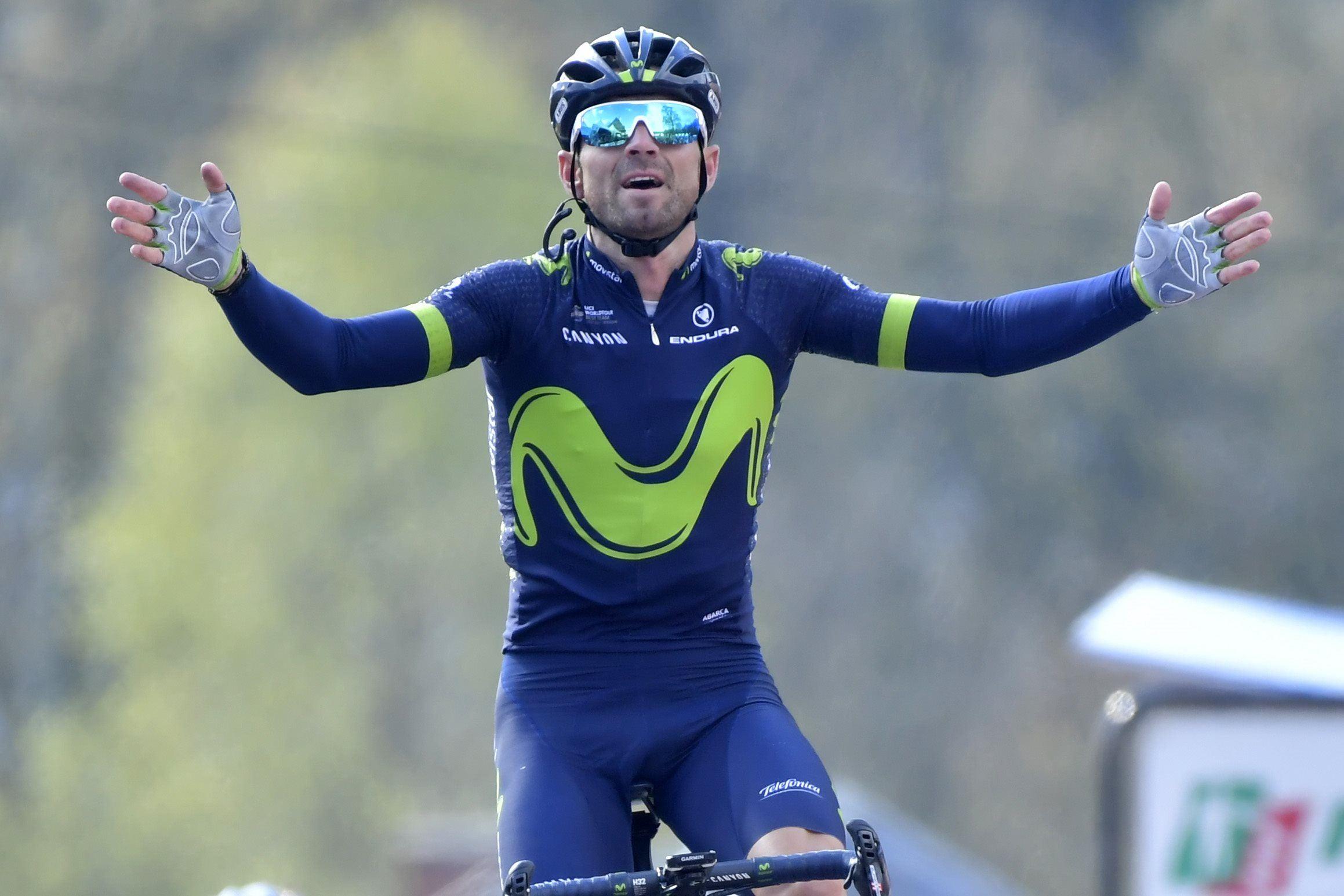 Cyclisme - Valverde s'offre Liège-Bastogne-Liège en pensant à Scarponi
