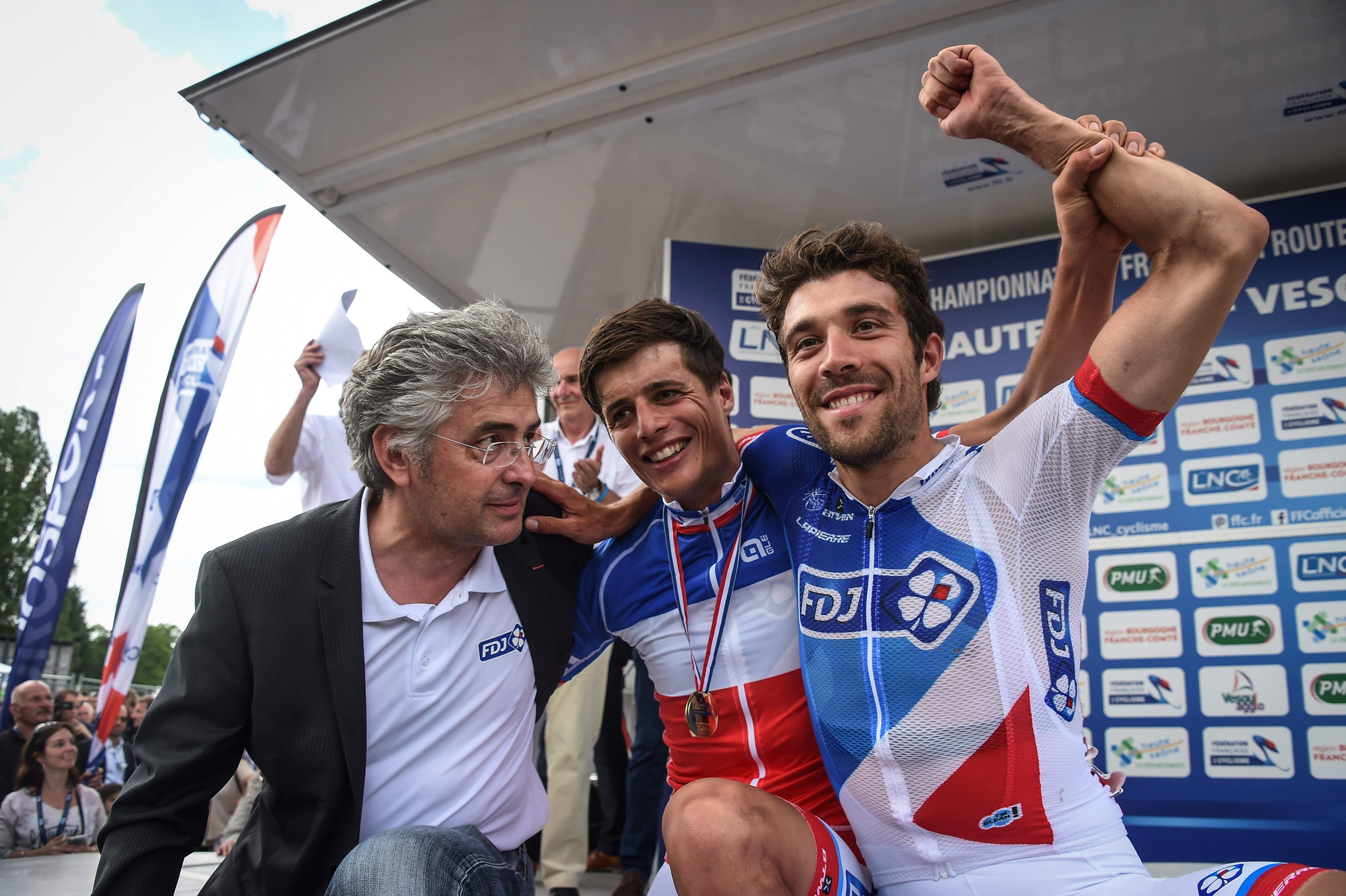Cyclisme - Vichot, champion de France dans l'ombre de Pinot