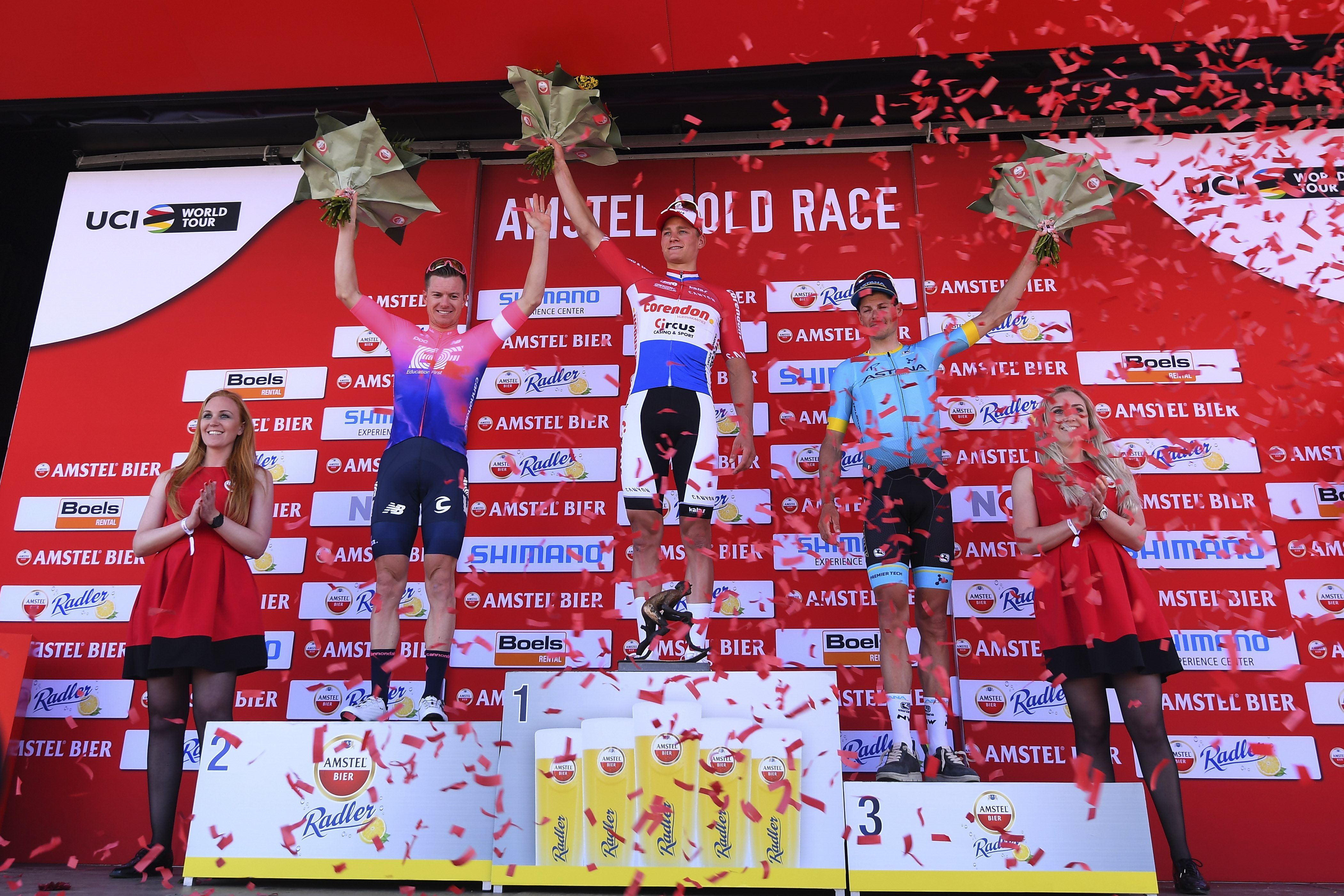 Cyclisme - Mathieu Van der Poel impérial sur l'Amstel Gold Race
