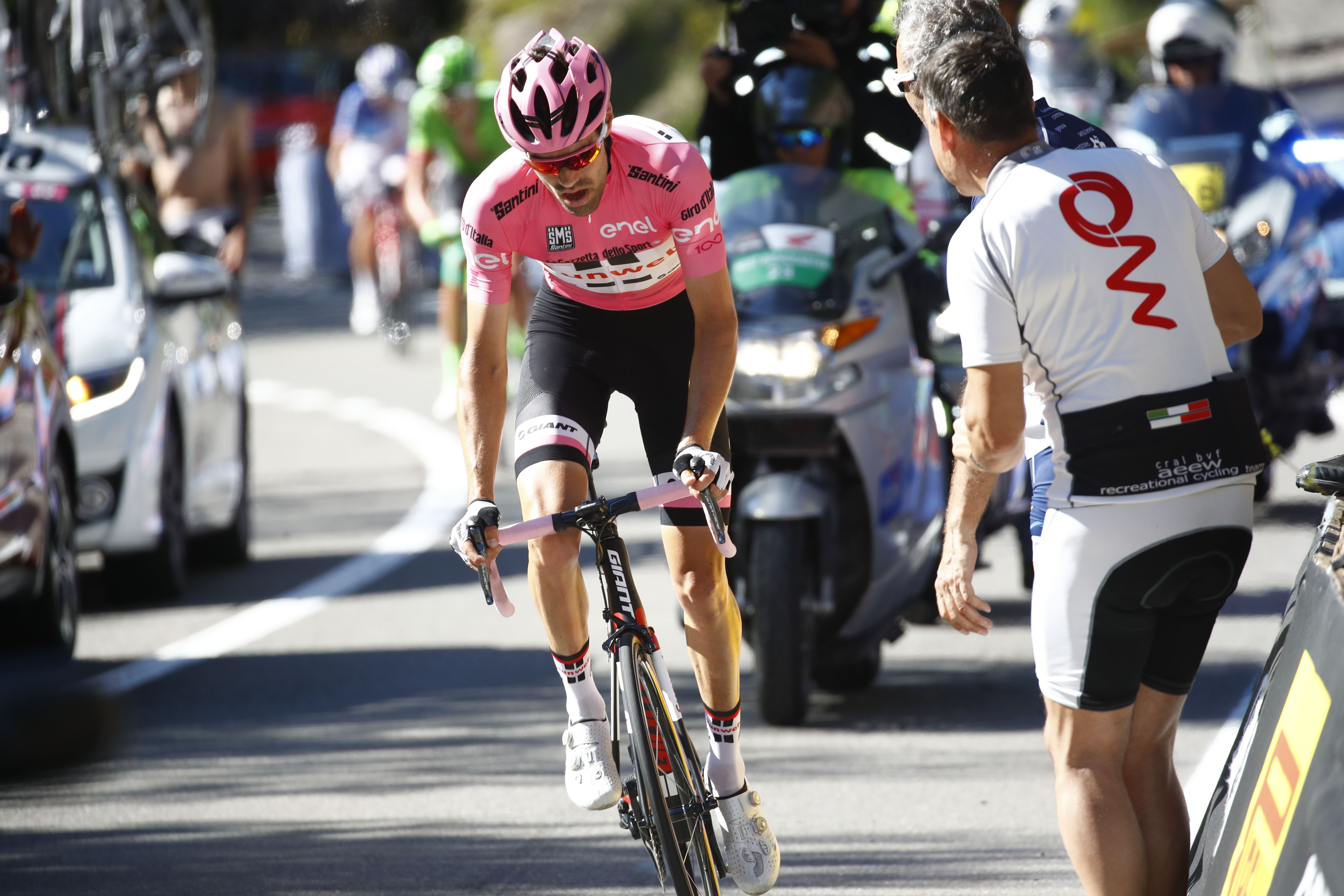 Cyclisme - Giro - Dumoulin se rapproche de la victoire, Pinot se rapproche du podium