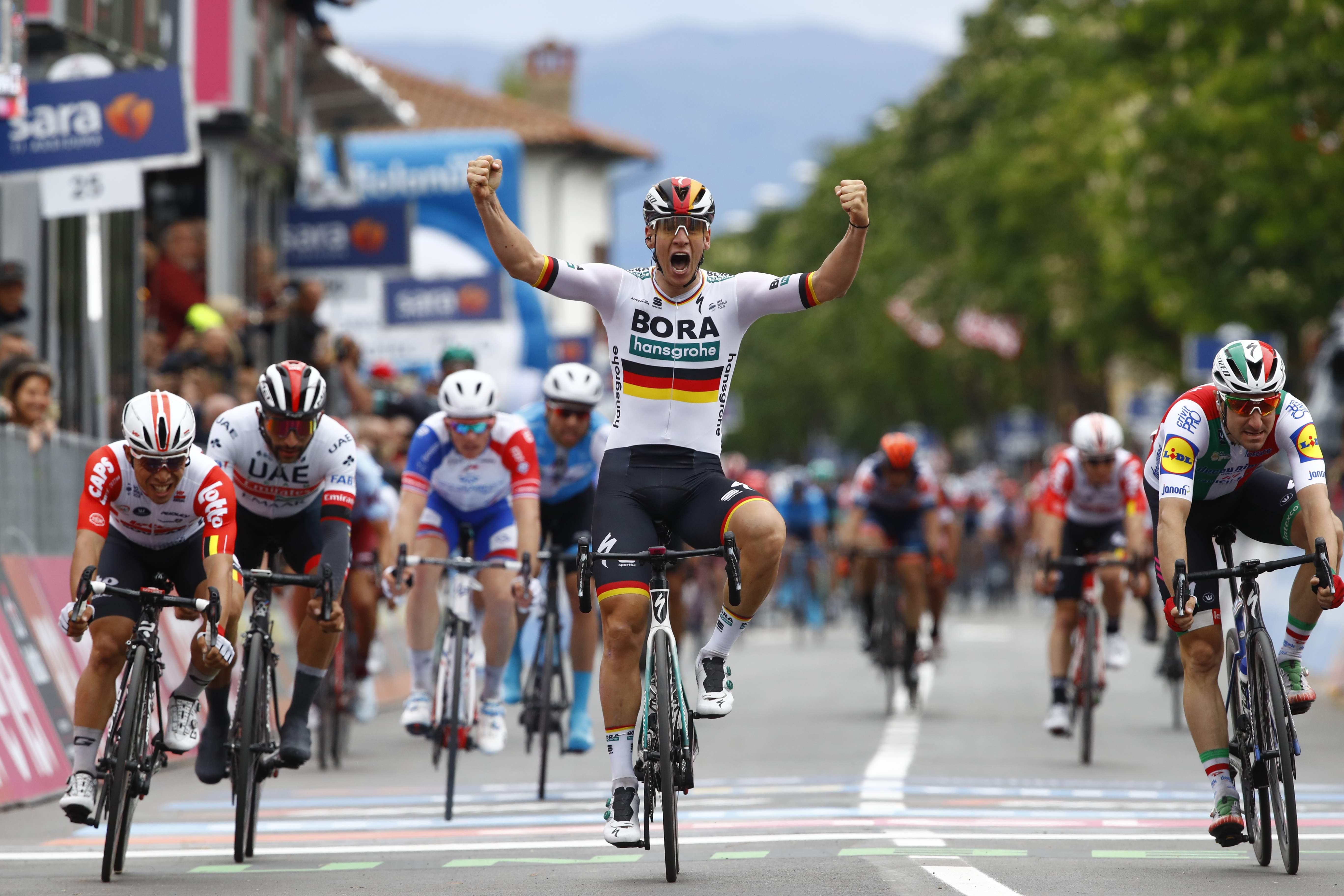 Cyclisme - Giro - Giro : Ackermann gagne au sprint la 2e étape