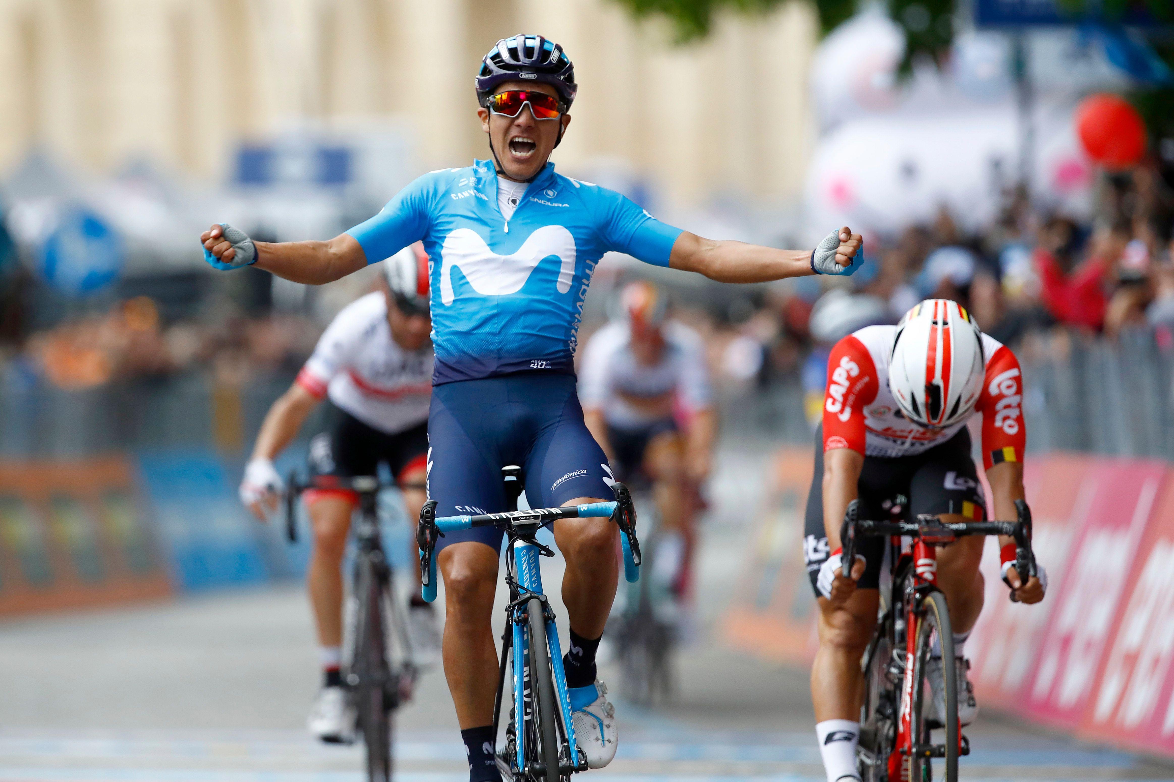 Cyclisme - Giro - Giro : Carapaz gagne la 4e étape, Dumoulin perd gros
