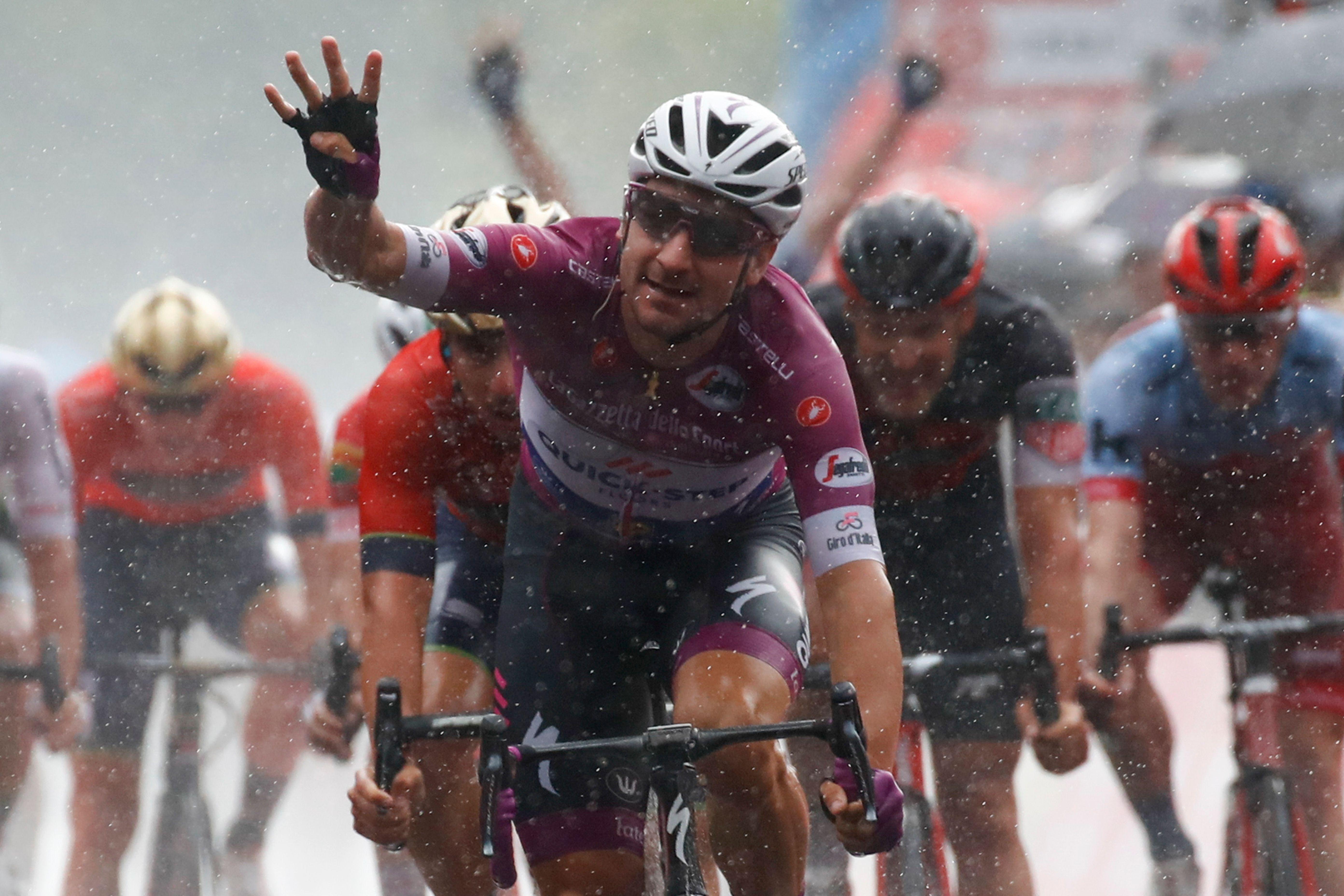 Cyclisme - Giro - Giro : Viviani à la fête avant les Alpes
