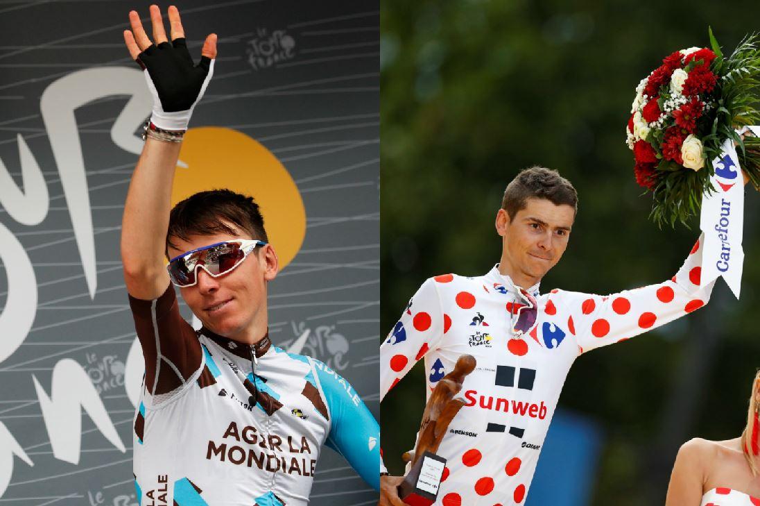Cyclisme - Tour de France - Bardet-Barguil, flamboyants symboles bleus