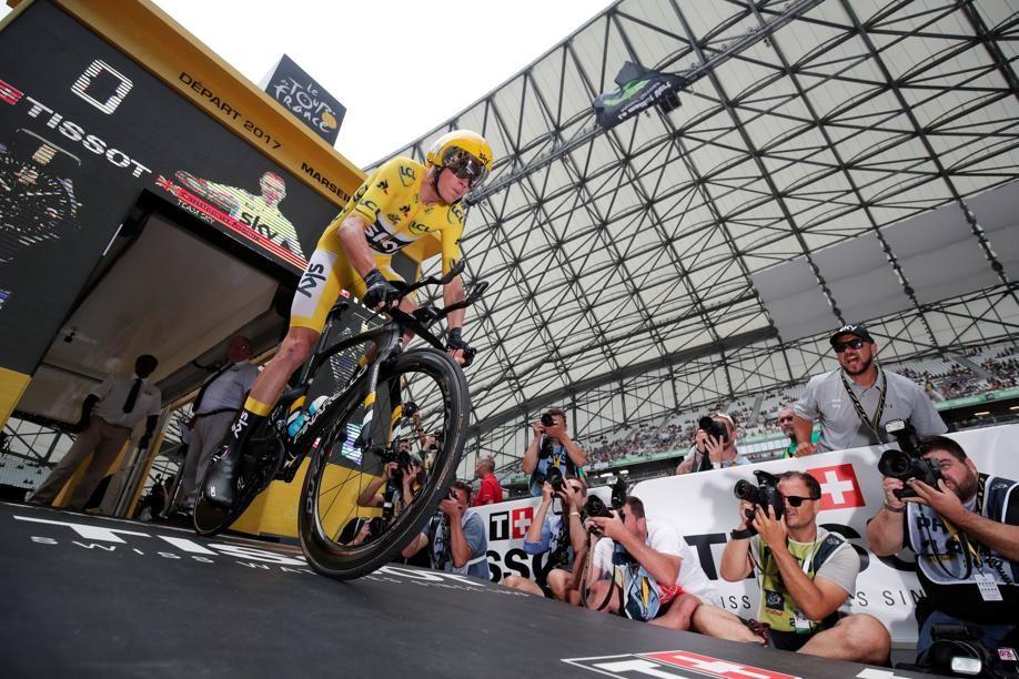 Cyclisme - Tour de France - Christopher Froome conspué par une partie du stade Vélodrome