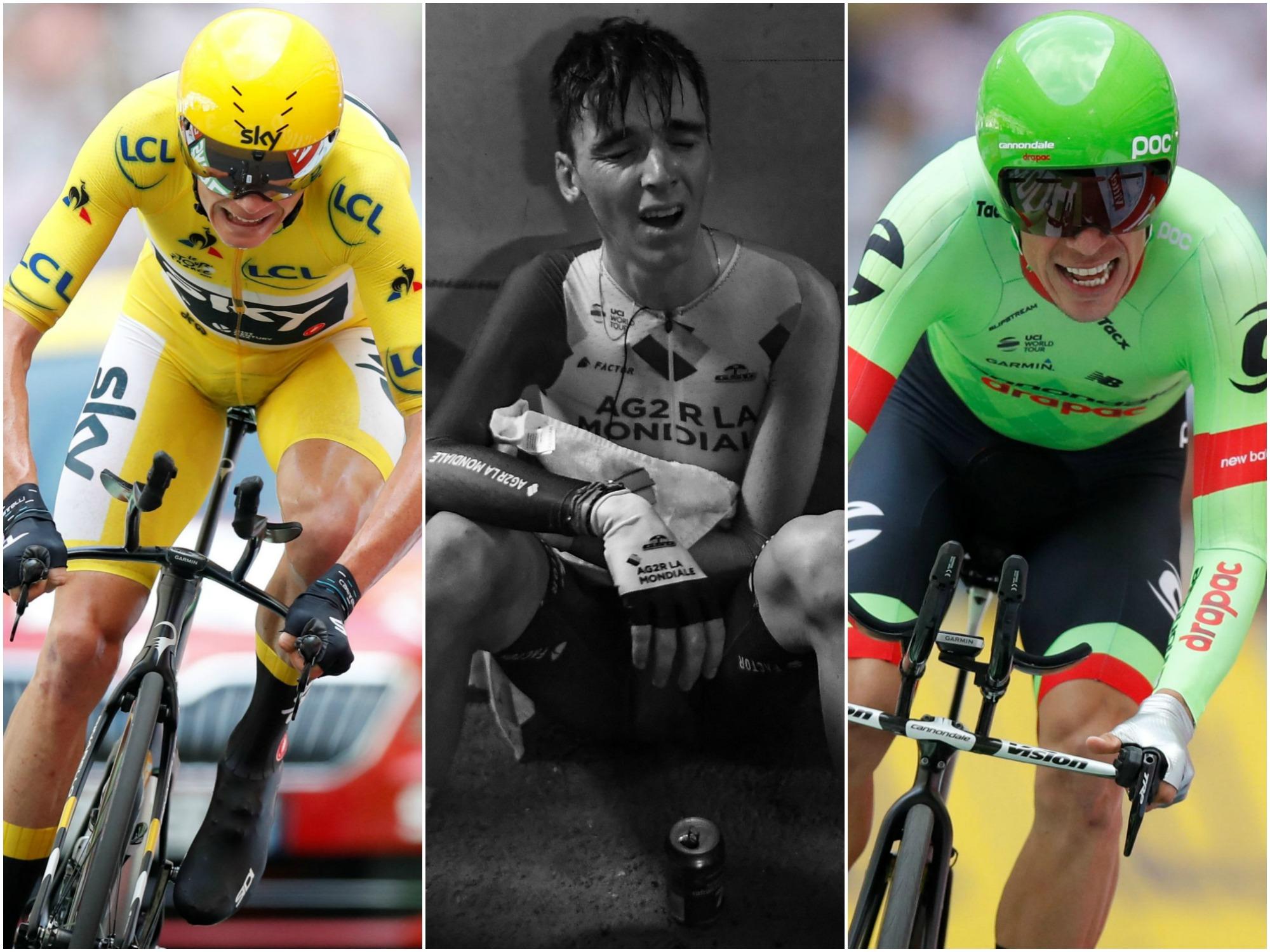Cyclisme - Tour de France - Froome, Uran, Bardet : les tops et les flops de la 20e étape du Tour
