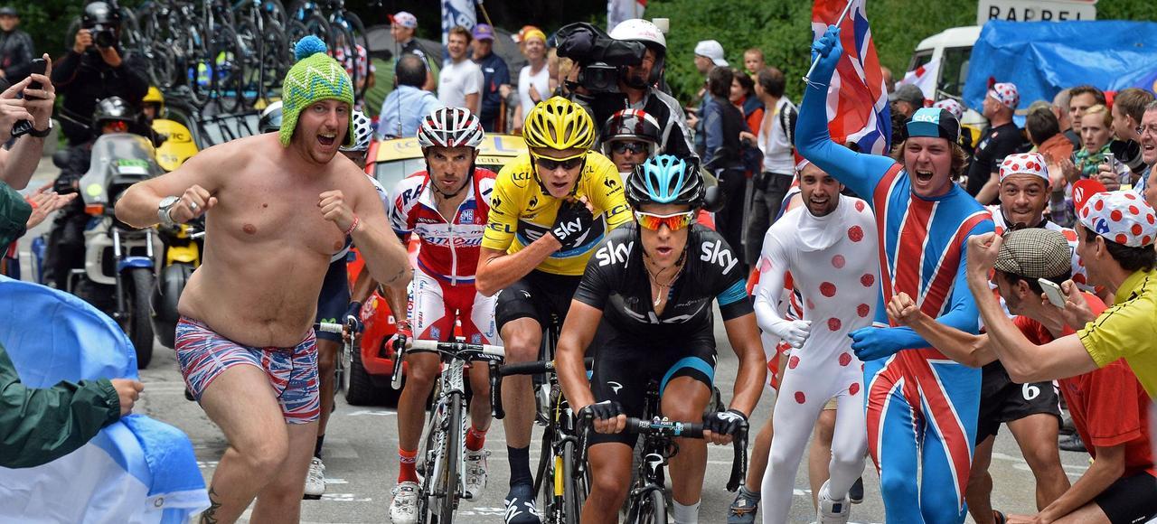 Cyclisme - Tour de France - L'Alpe-d'Huez, la pièce montée qui embrase le Tour de France