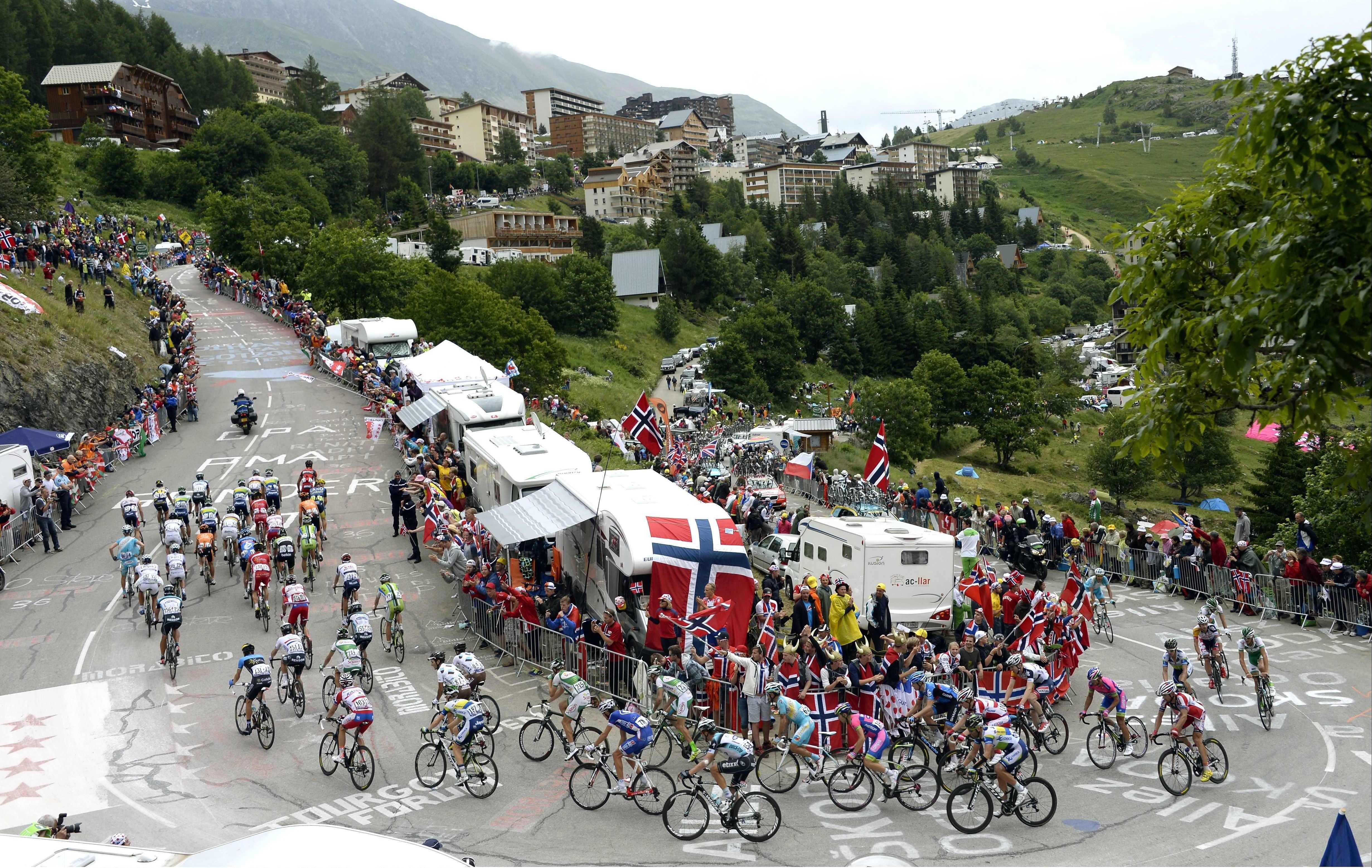 L alpe d huez vertige du tour tour de france cyclisme - Office du tourisme de l alpes d huez ...