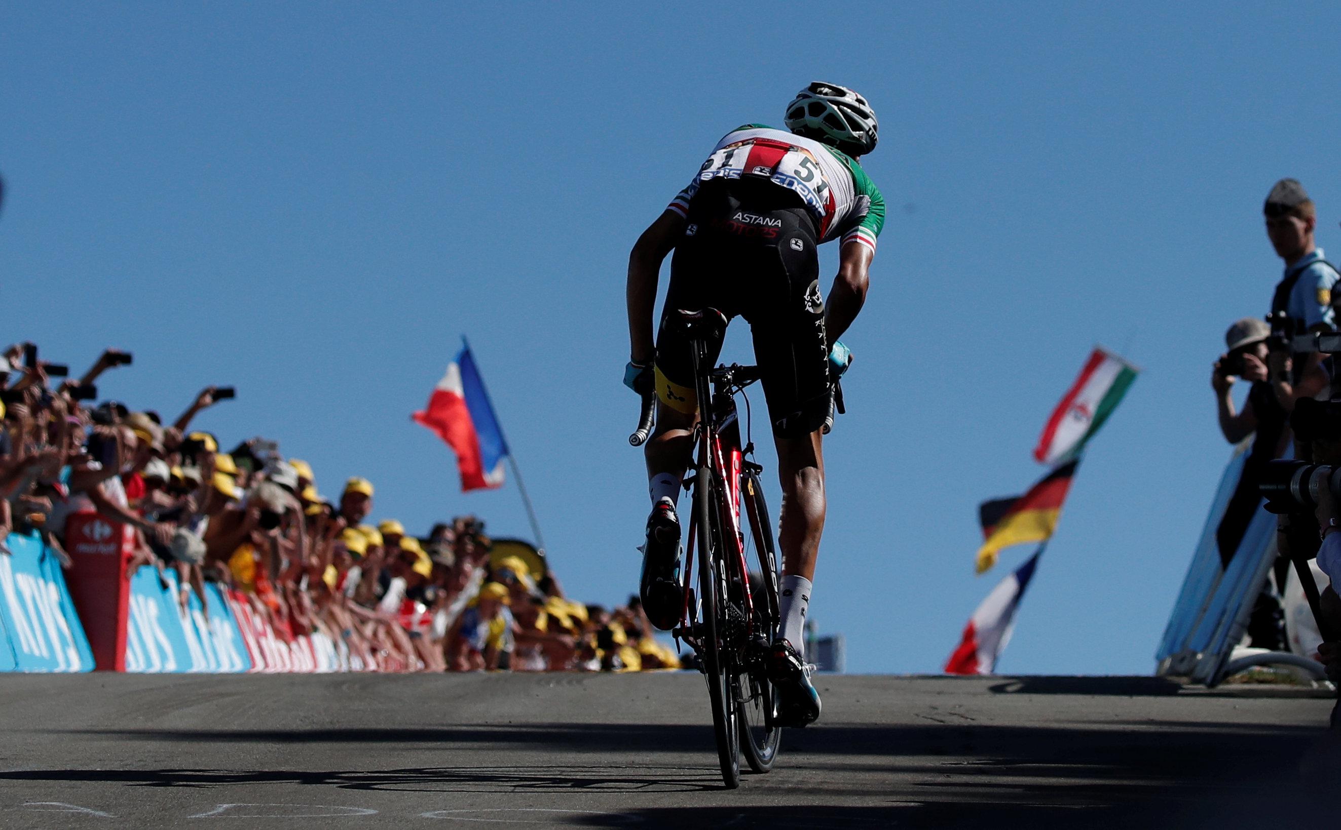 Cyclisme - Tour de France - La Planche des Belles Filles: un rendez-vous très attendu au sommet pour les favoris