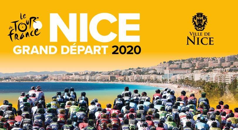 tour de france 2020 carte Le Tour de France 2020 s'élancera de Nice   Tour de France   Cyclisme