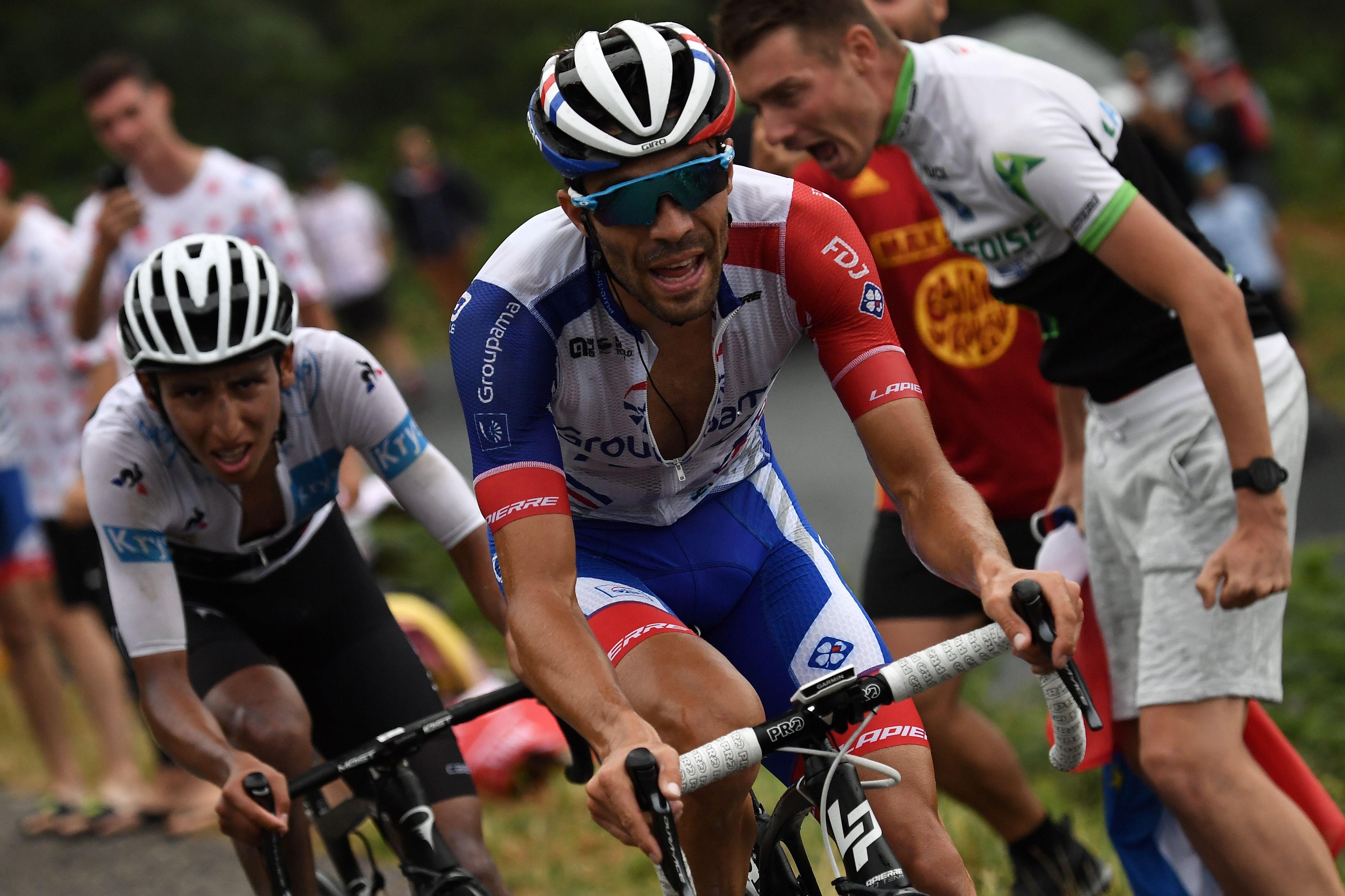 Cyclisme - Tour de France - Pinot, désormais 4e du Tour de France 2019 : «Quand on a la bonne jambe, il faut profiter»